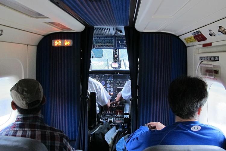 The flight from Kathmandu to Lukla