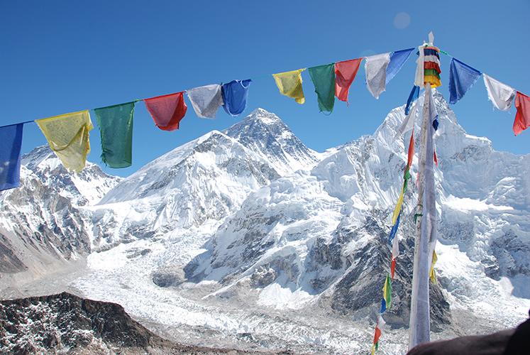 Mt. Everest from Kala Pattar.