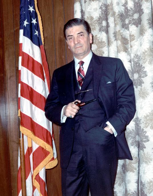 Raymond J. Pettine, 1969. Photograph Rhi X17 1890. Courtesy of the Rhode Island Historical Society