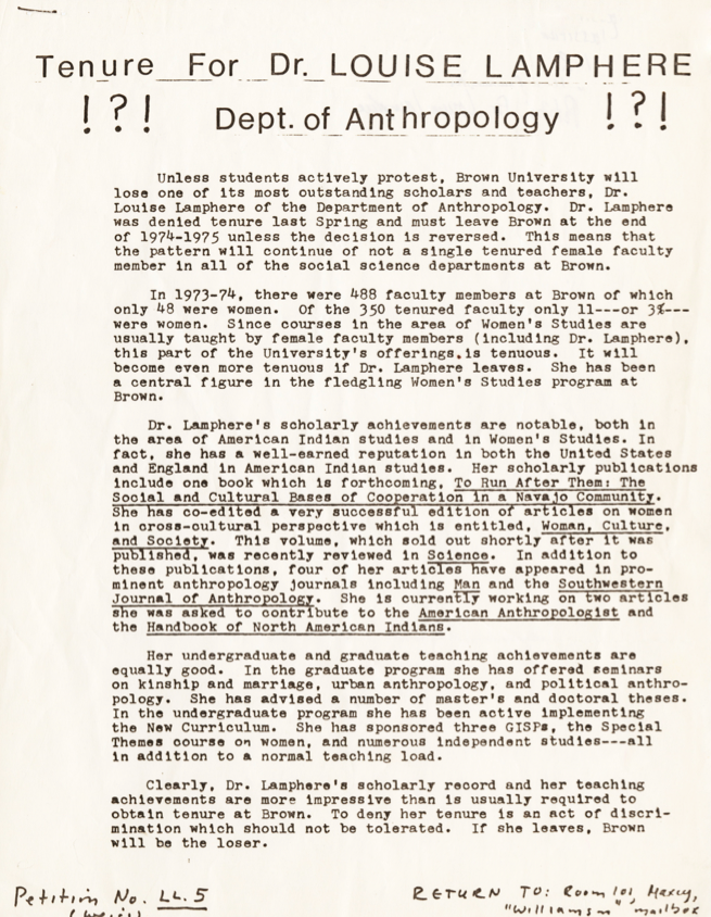 Click documentto read full text  Brown University Archives
