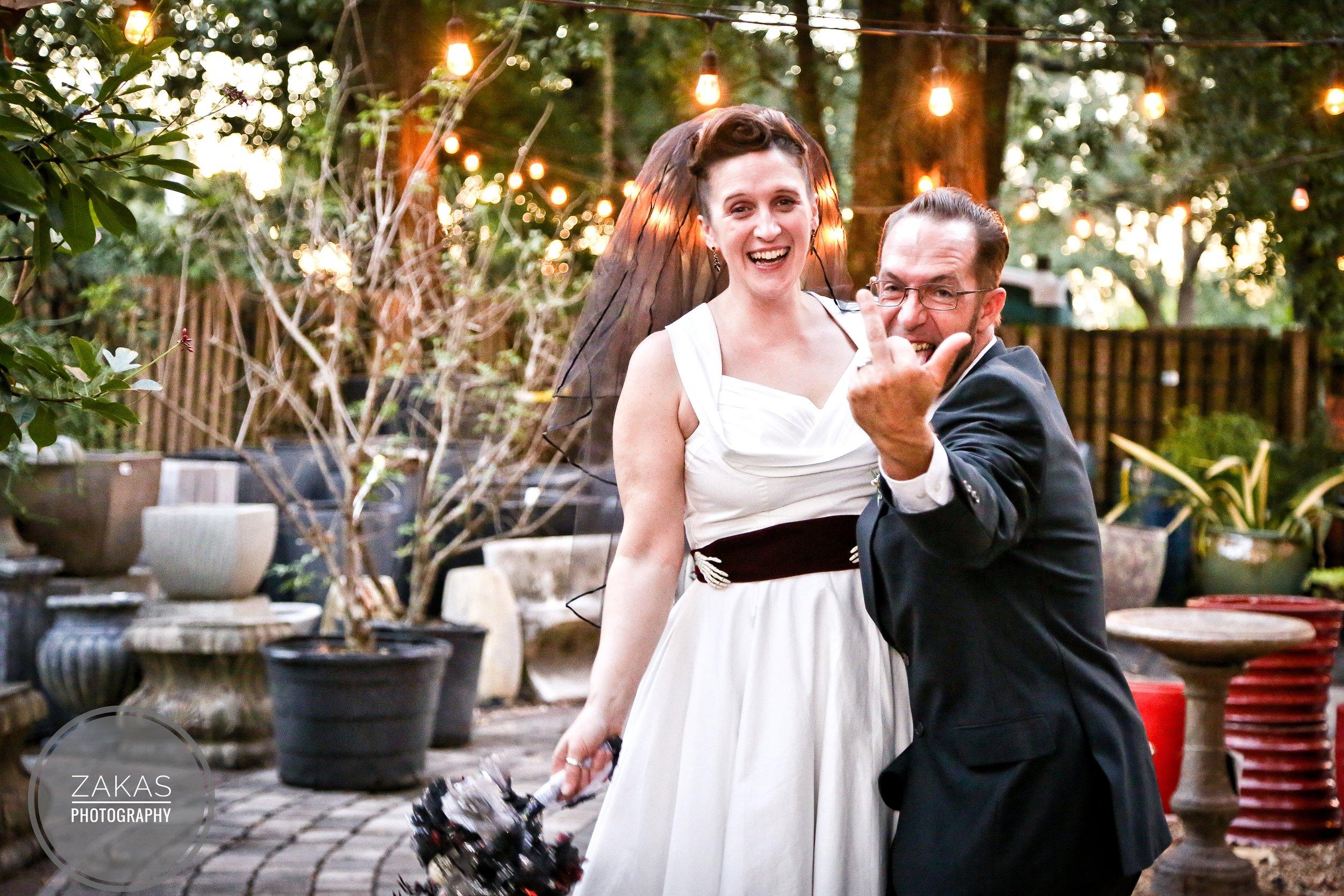 Leslie and Drew // Orlando, FL Halloween Wedding