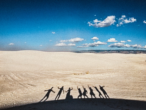 white sands elopement photography