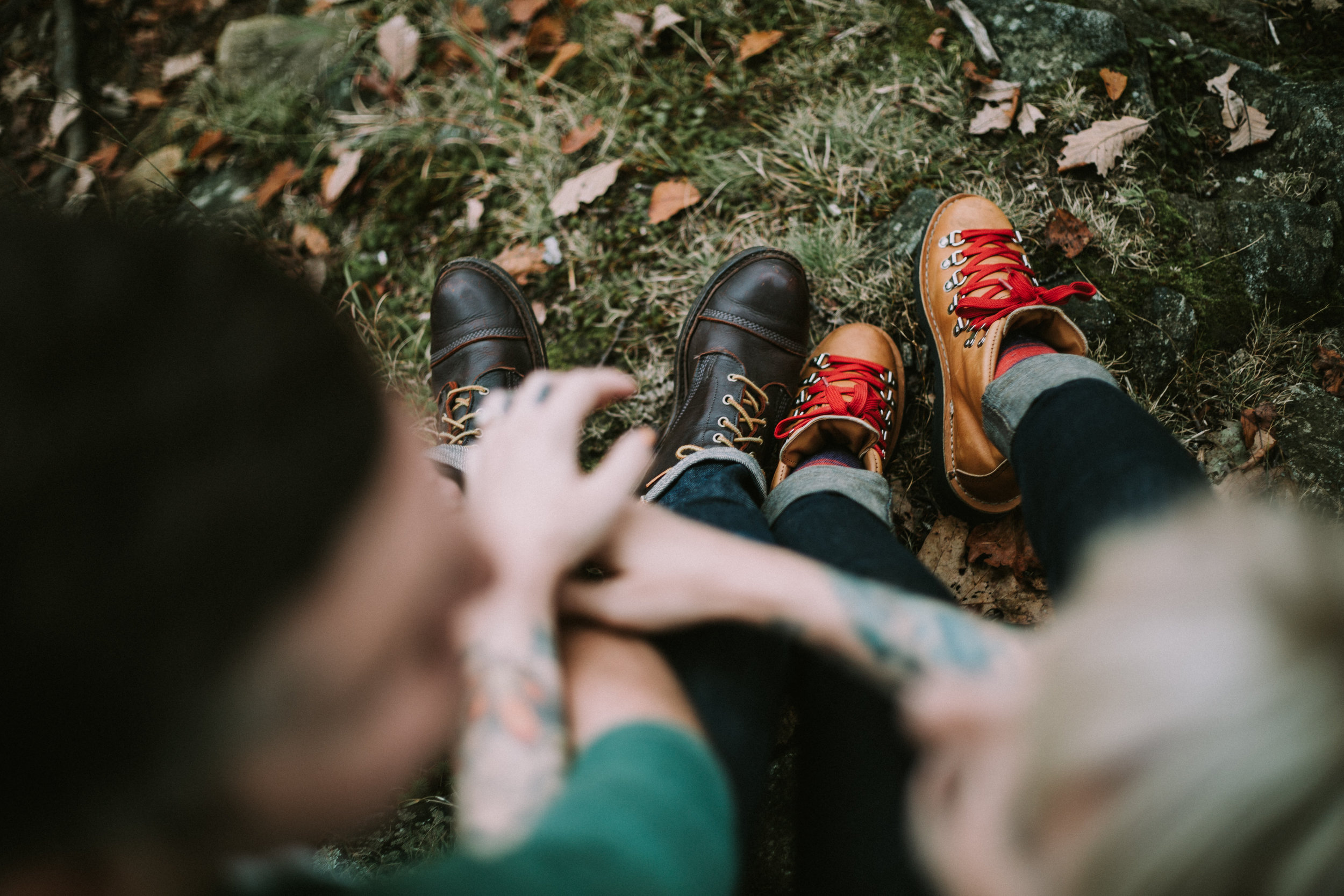 ADVENTURE ENGAGEMENT SESSION DANNER BOOTS