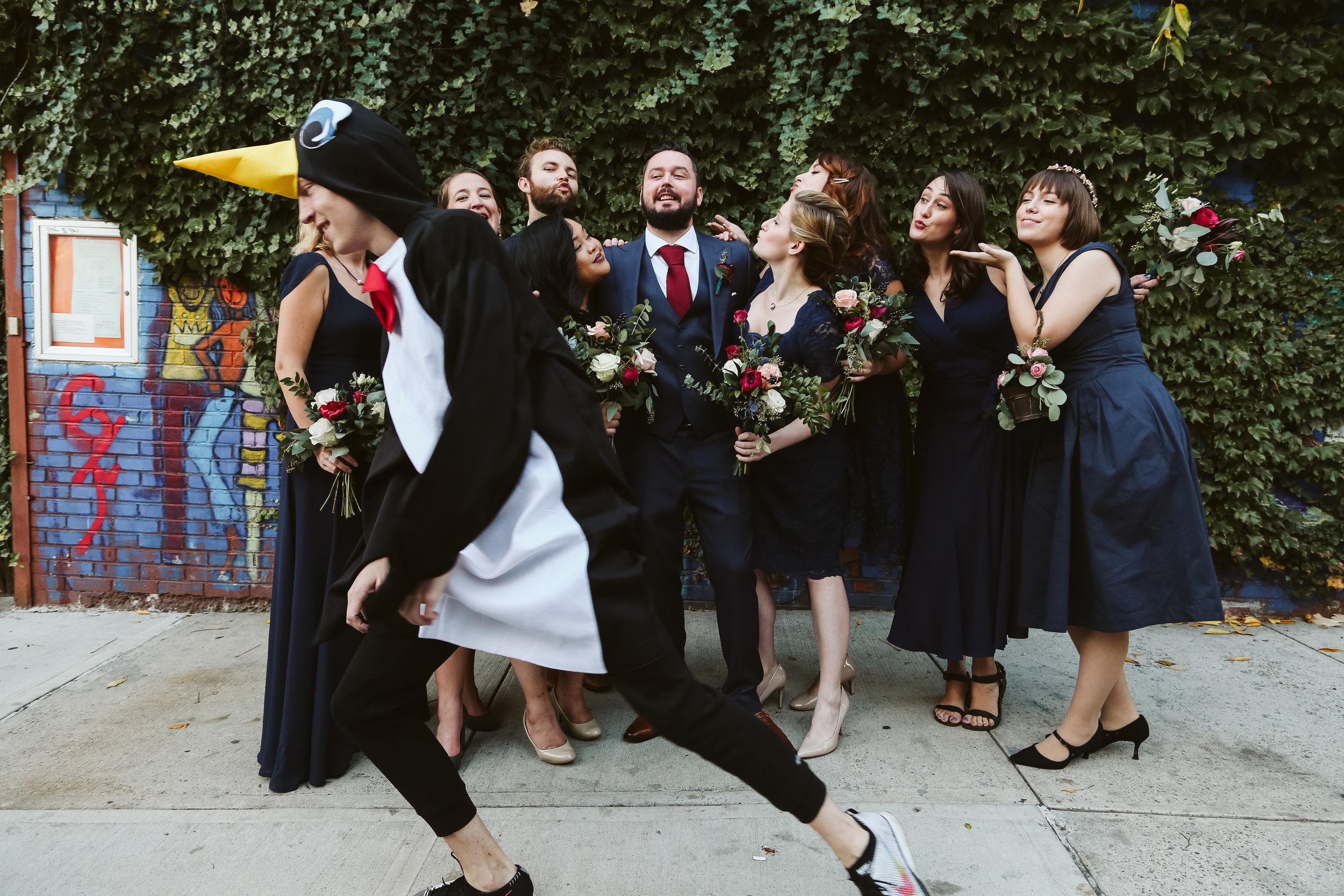 MyMoon Brooklyn wedding pictures