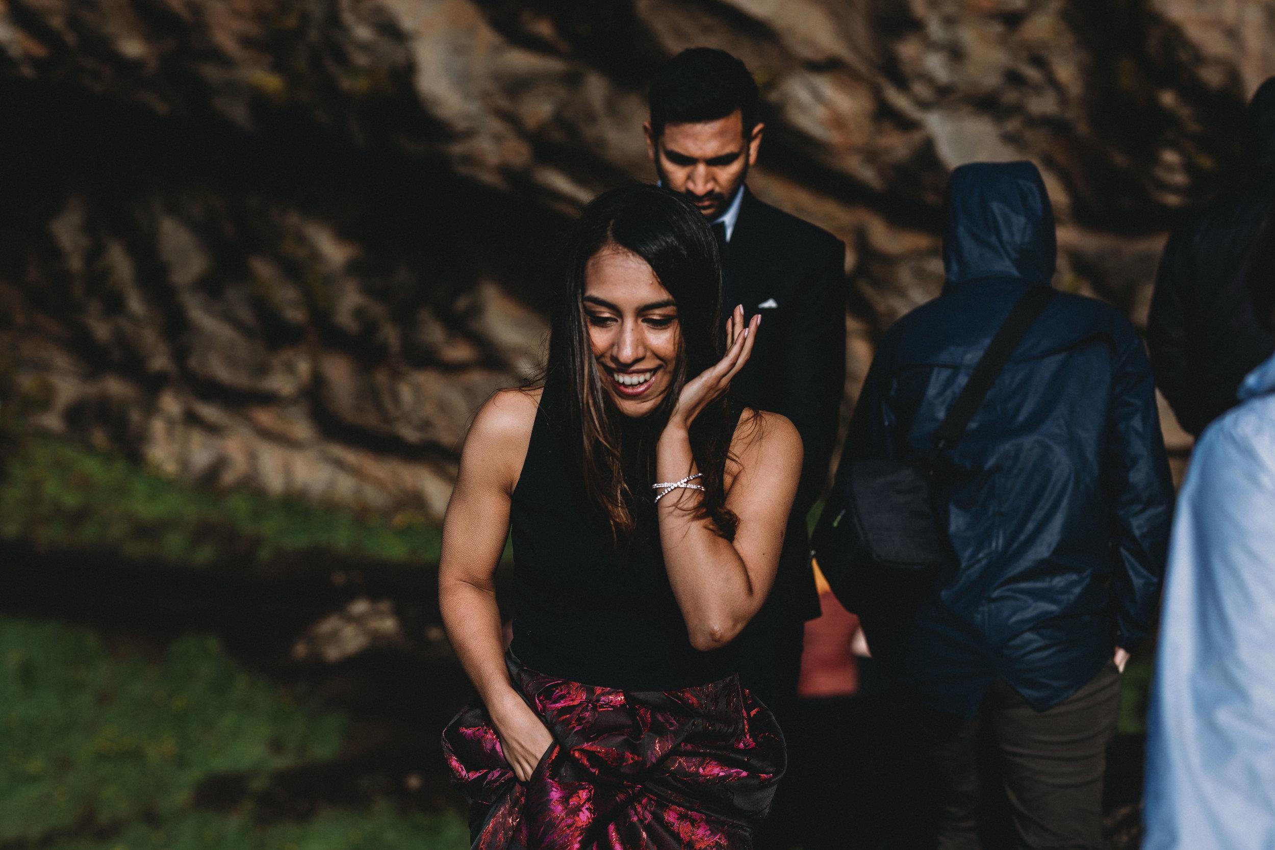 Iceland elopement photographer   Iceland south coast engagement photos   Iceland seljalandsfoss wedding pictures
