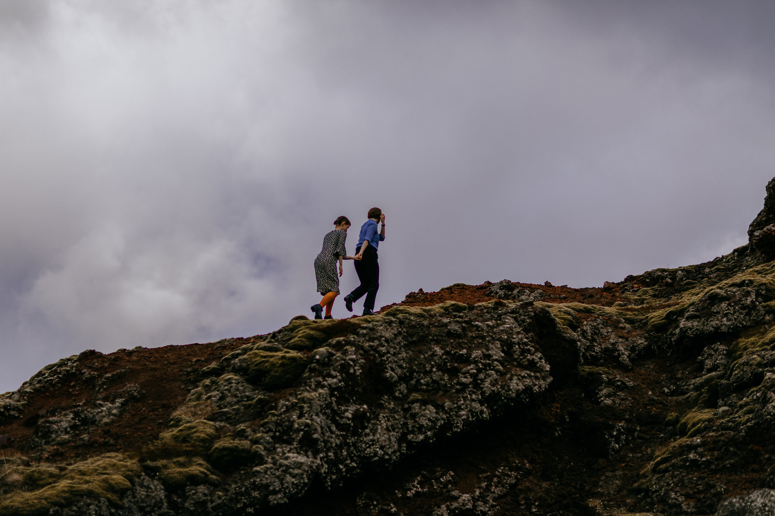 iceland elopement photographer | iceland elopement LGBTQ | iceland engagement pictures