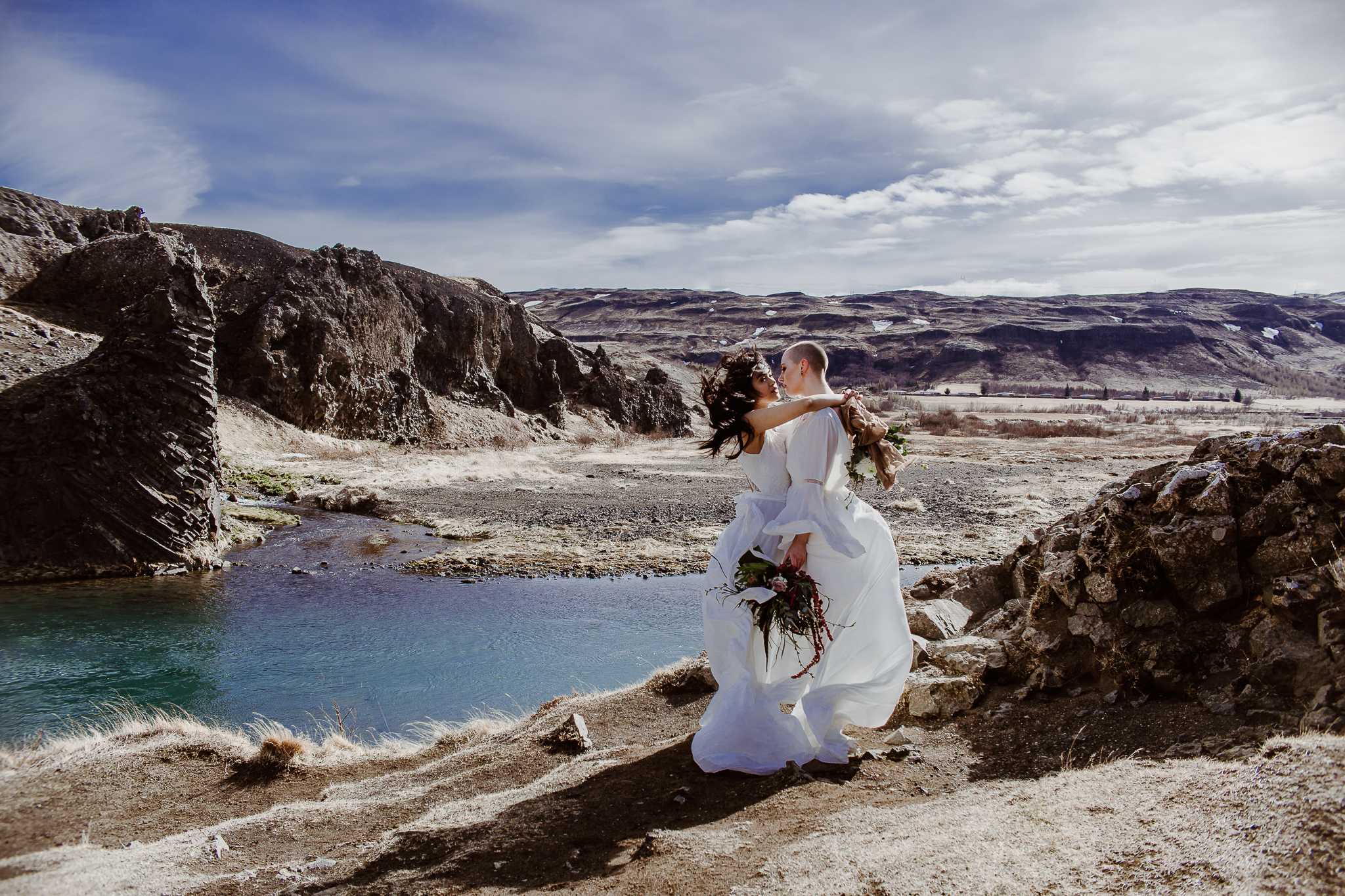 iceland elopement photographer | iceland wedding photographer | iceland wedding pictures | iceland lgtbq wedding pictures