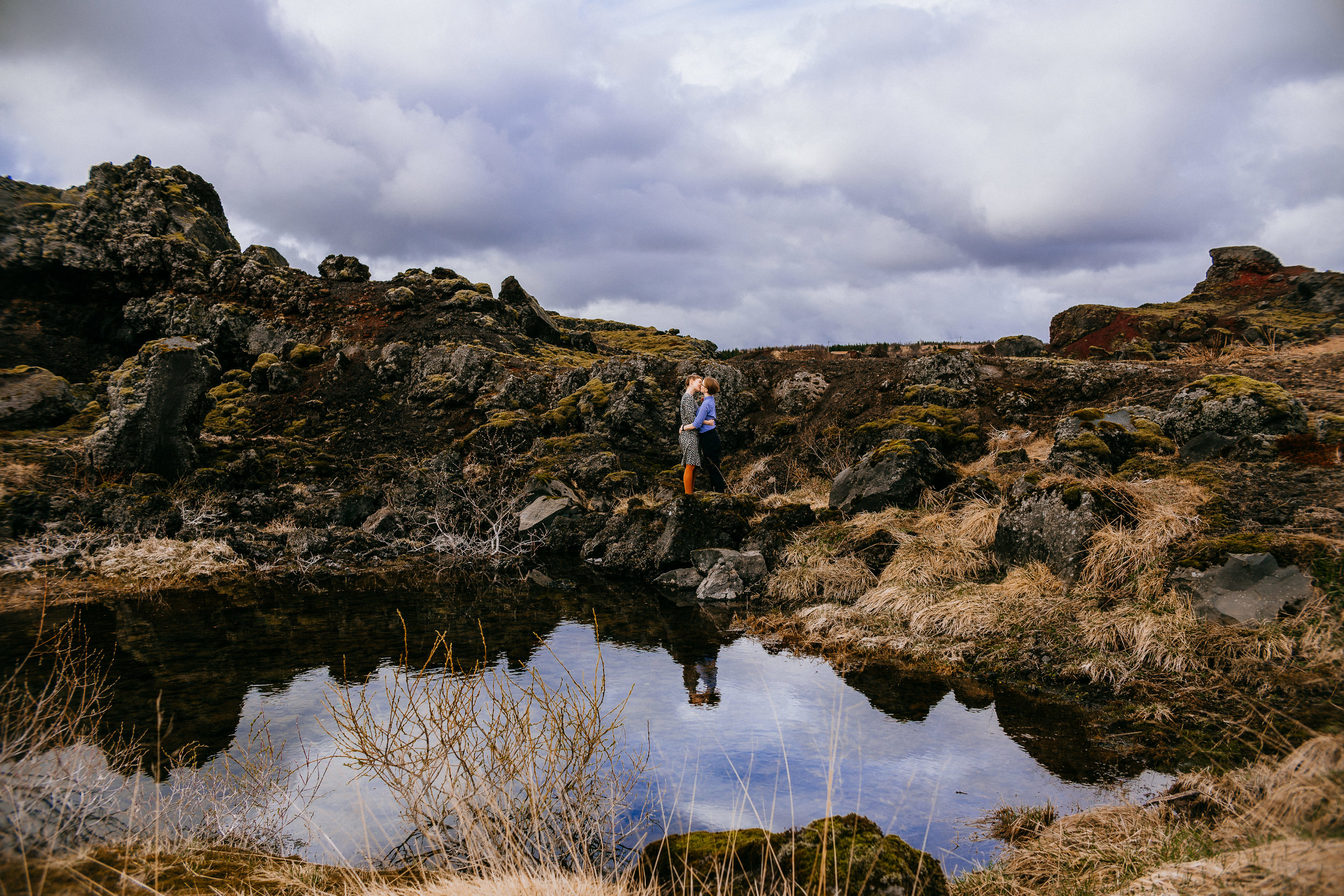 ADORABLE ICELAND LGBTQ+ ENGAGEMENT SESSION | ICELAND ELOPEMENT PHOTOGRAPHER