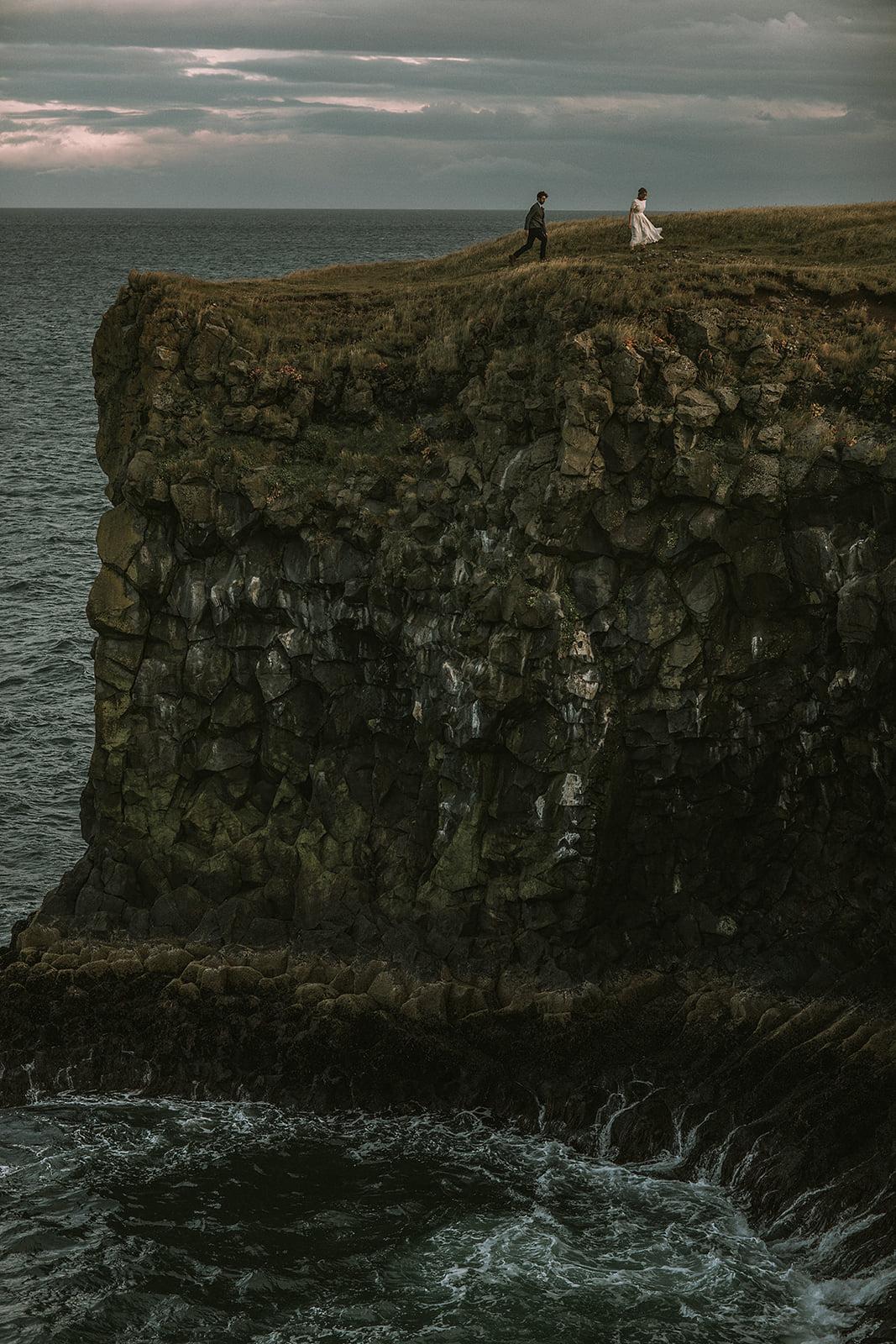 Iceland Elopement at Búðir Black Church | Iceland Elopement Photographer