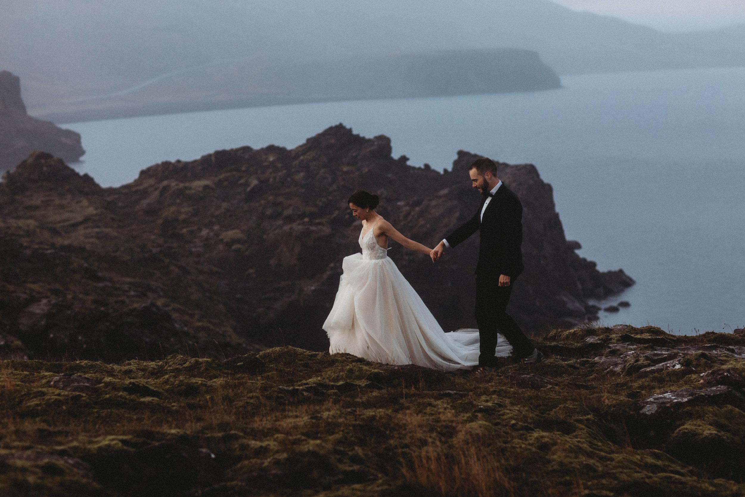 adventure elopement in iceland