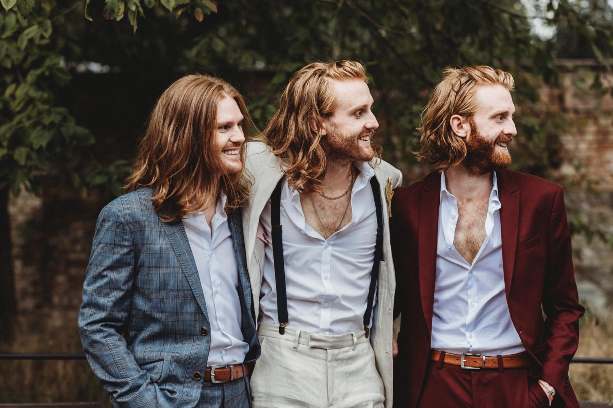 London wedding groomsmen by zakas photography