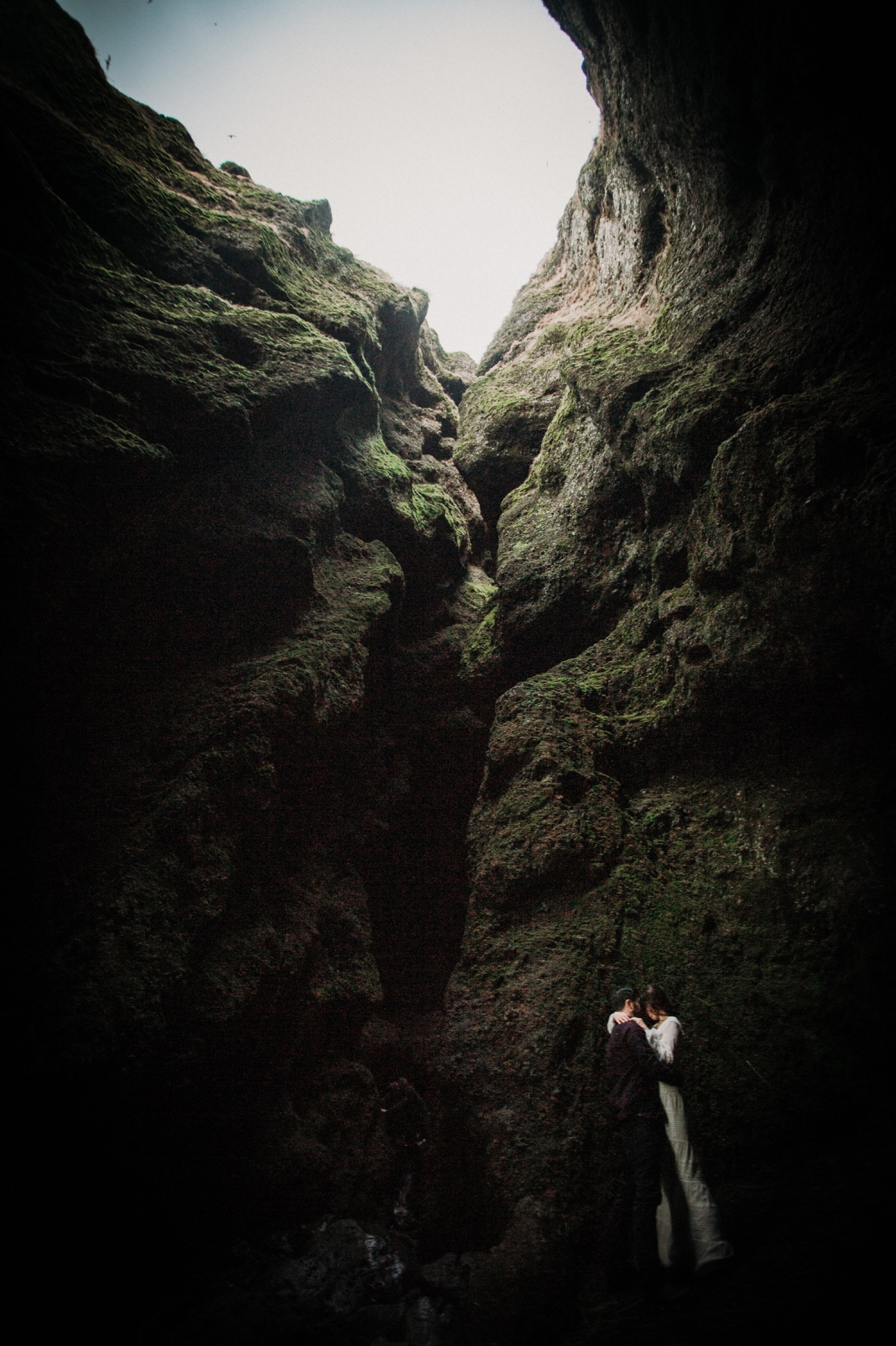 iceland elopement cave