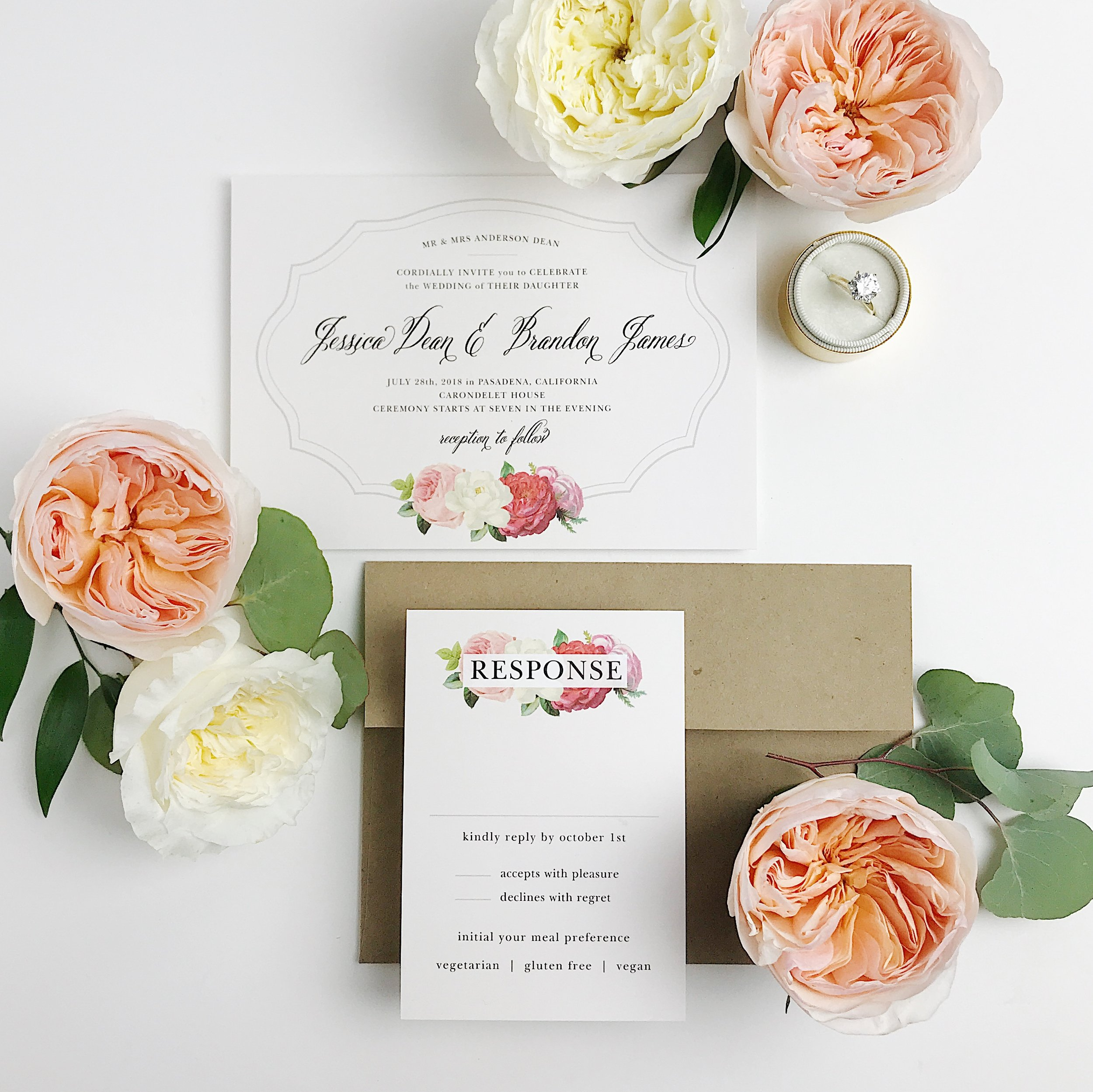 elopement party invites