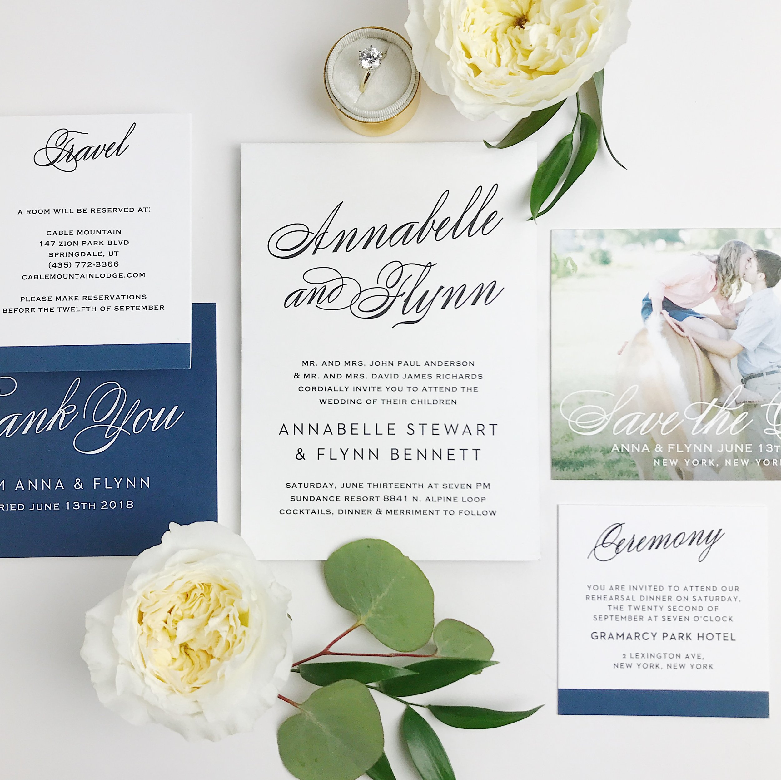 elopement and wedding invites