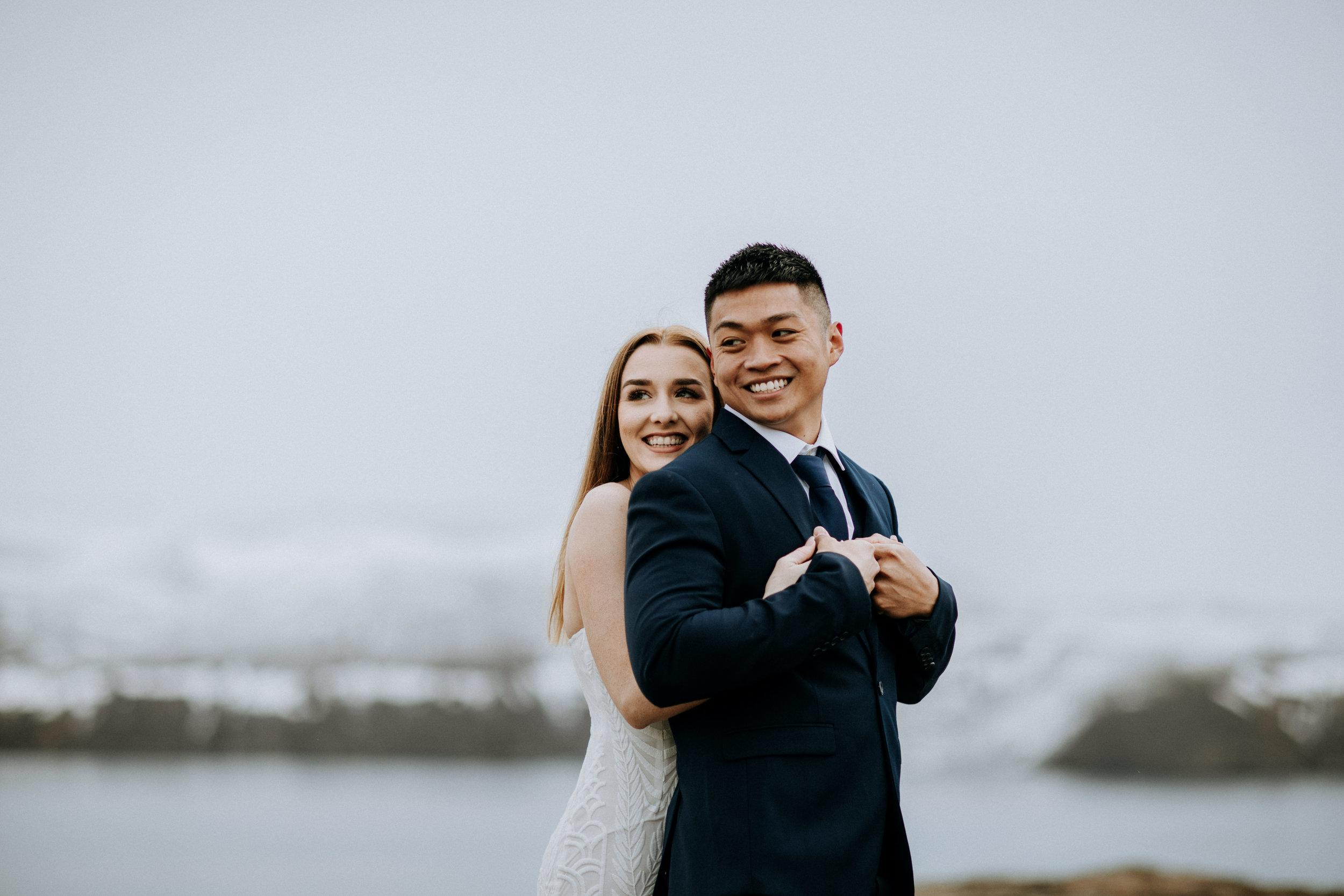 iceland adventure engagement photos