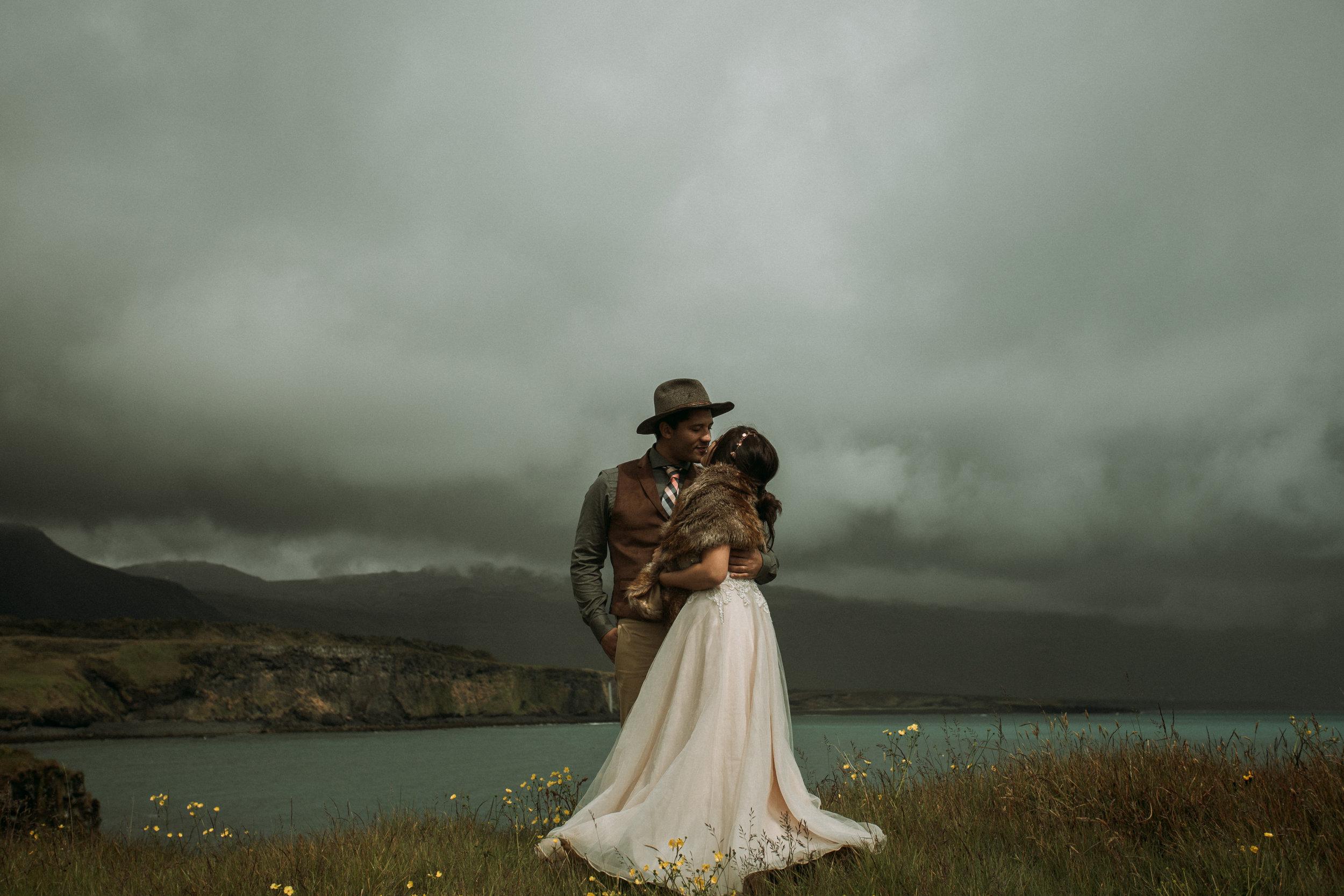 iceland elopement photographer snæfellsnes