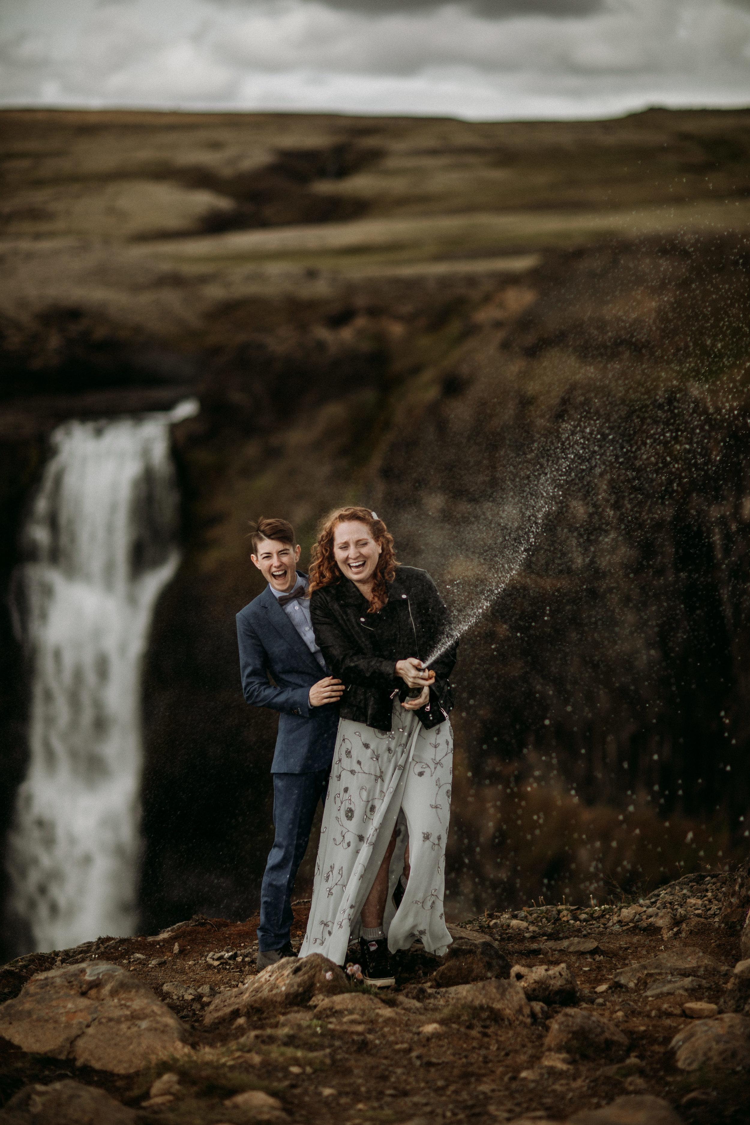 LGBTQ iceland wedding photographer