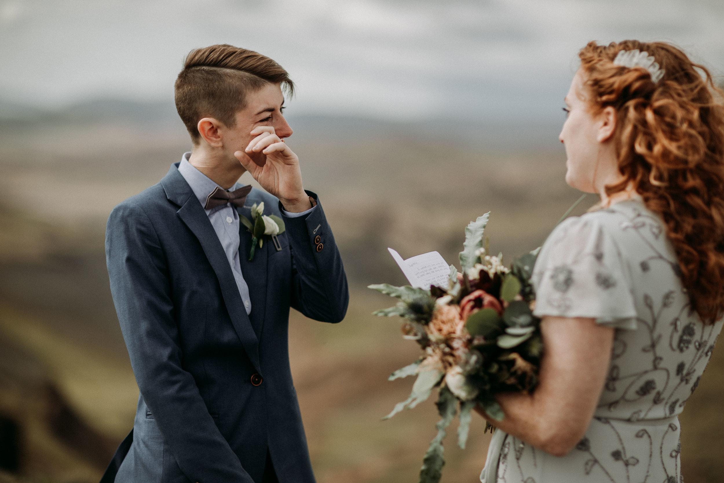same sex elopement photos | iceland elopement photographer