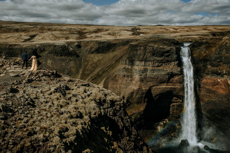 iceland waterfall elopement | best elopement photography