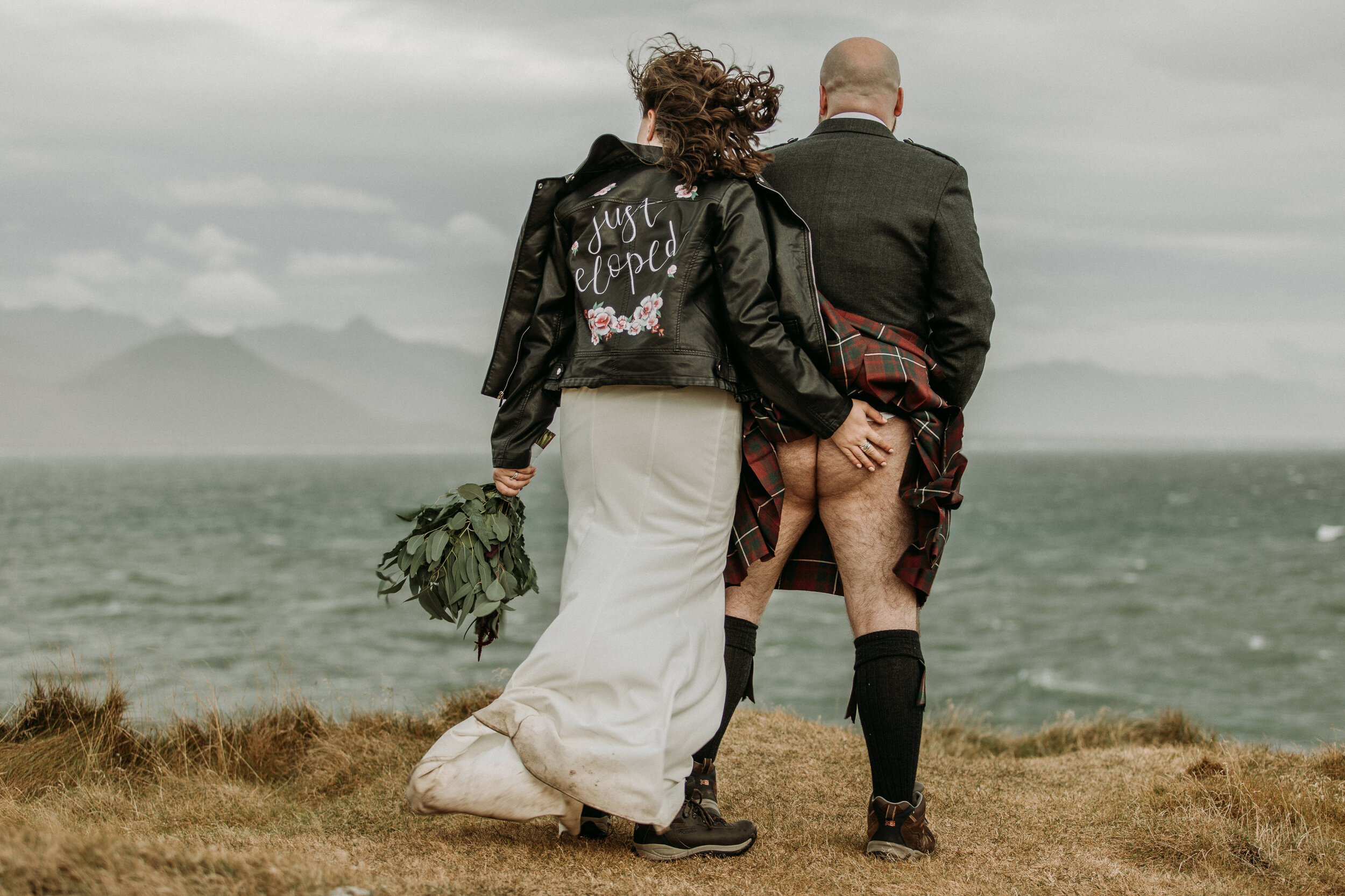 highlands scotland elopement | adventure elopemet photos