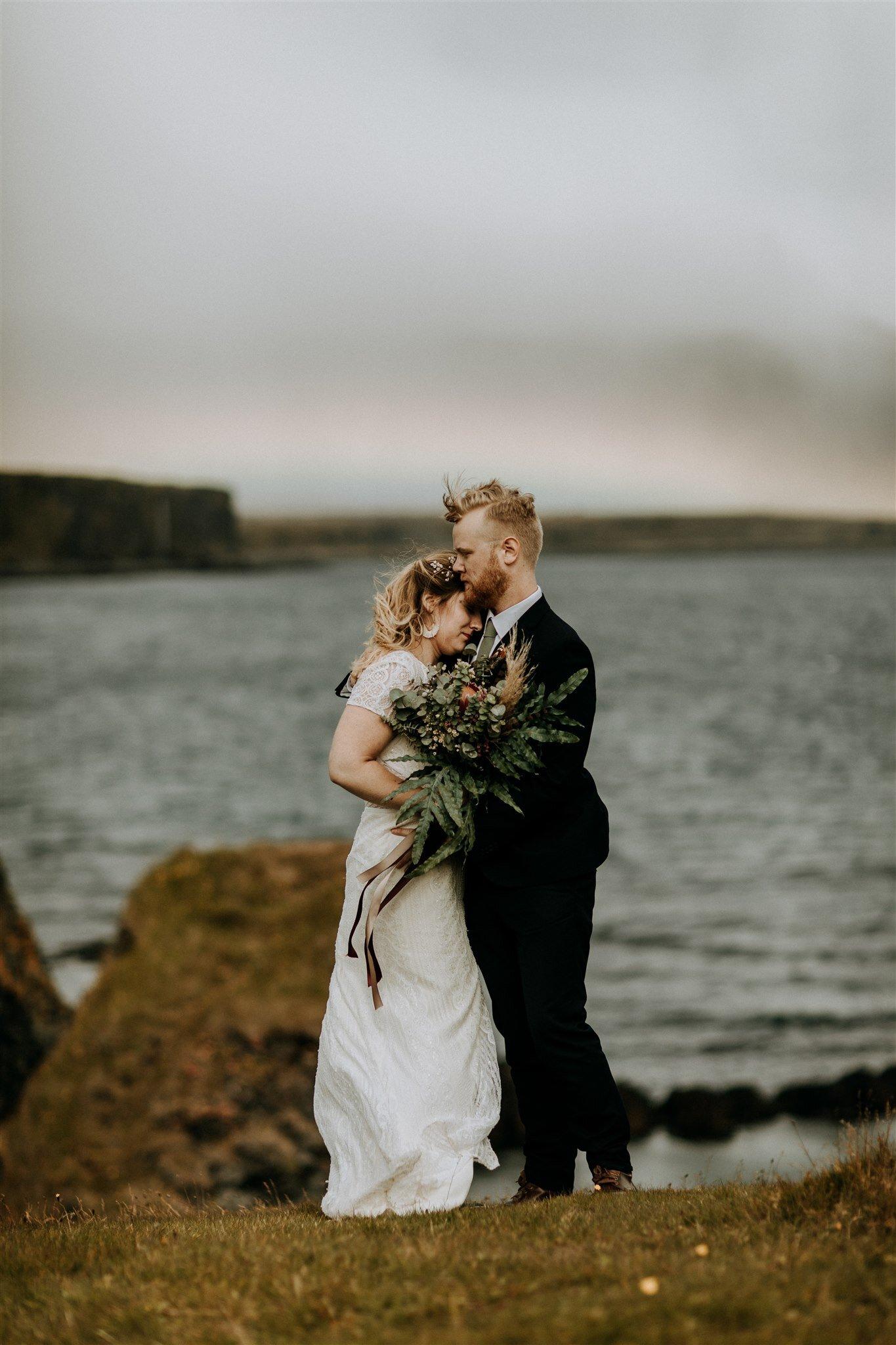 rainbow elopement photos