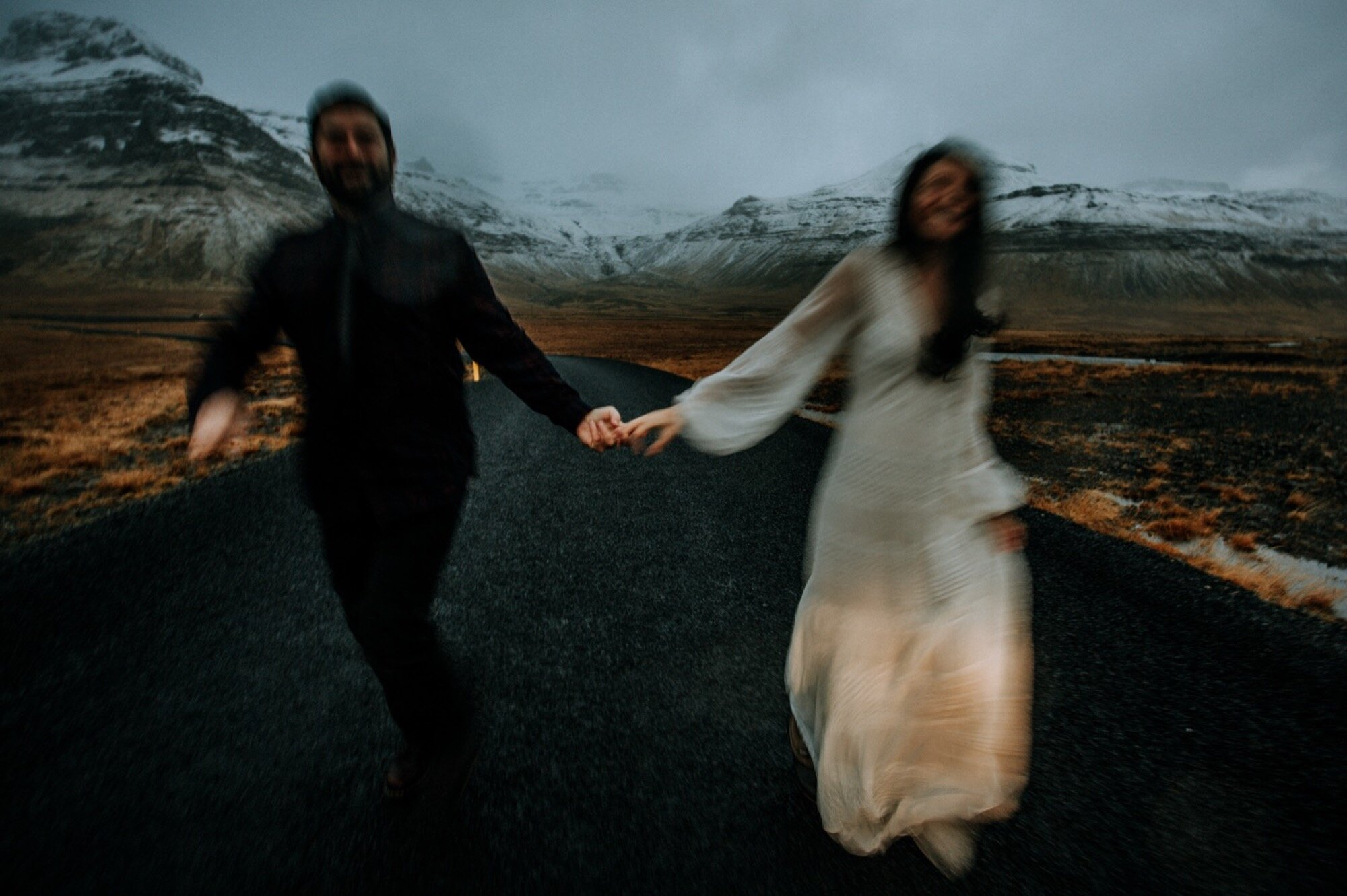 iceland elopement in winter | iceland wedding photographer