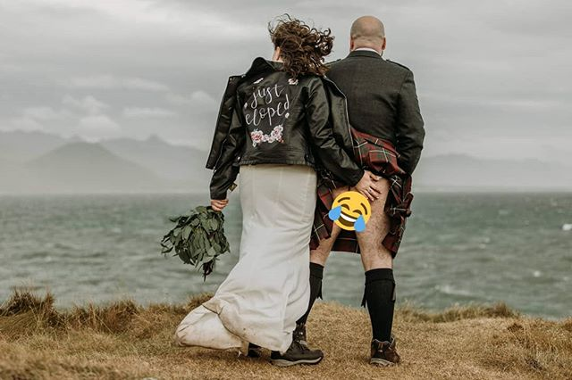 Man, this Iceland wind is stronggggggggg. 😂♥️😂 And yes, the kilt rumors are true. 😂