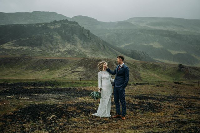 Elopements are fun because you have to have a sense of adventure from the start. Rena & Chad were such troopers when their Iceland elopement didn't go as planned because the weather had other plans. I am always so thankful of my extensive experience in Iceland nature and my obsession with location scouting for moments like these. I wasn't about to let the insane storm happening ruin their day, so a plan B was created and we took off into another area of Iceland! It was a blessing in disguise becasuse we ended up in this amazing canyon for them to say their vows, which is what meant the most to them. --- Check out their blog up live on the blog.  https://bit.ly/2WO8Bc1
