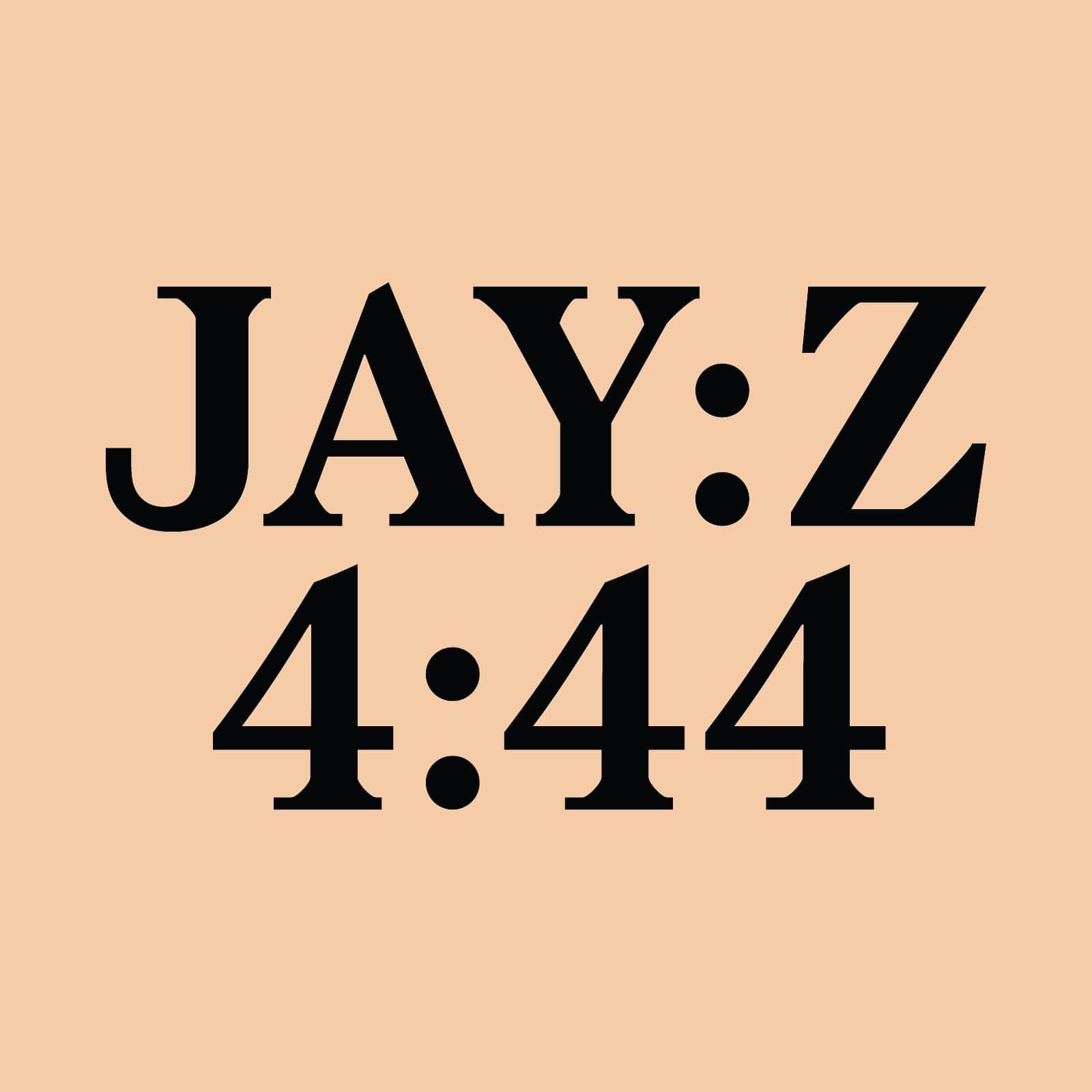 Jay-Z, 4:44, album cover