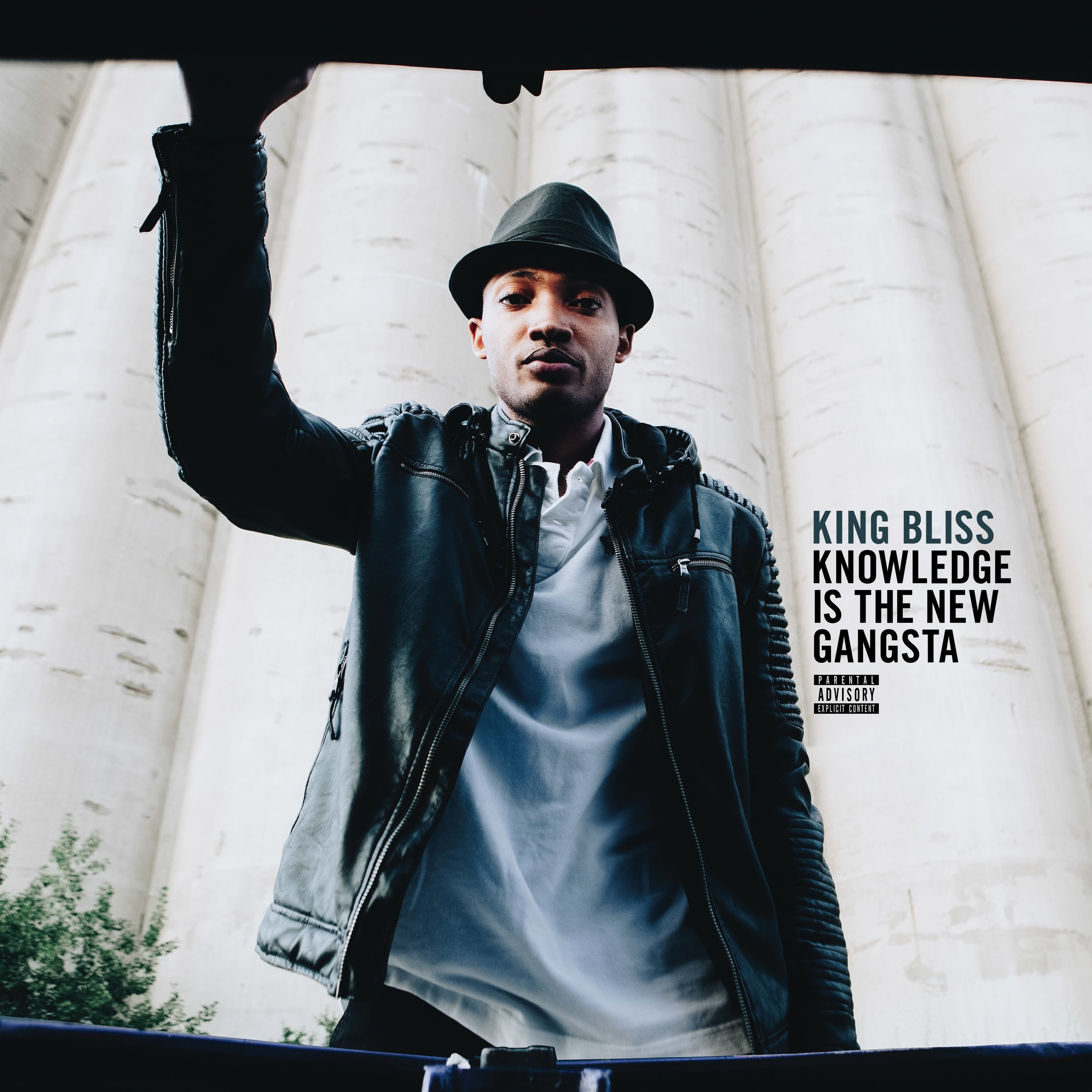 King Bliss - Knowledge Is The New Gangsta Front Cover.jpg