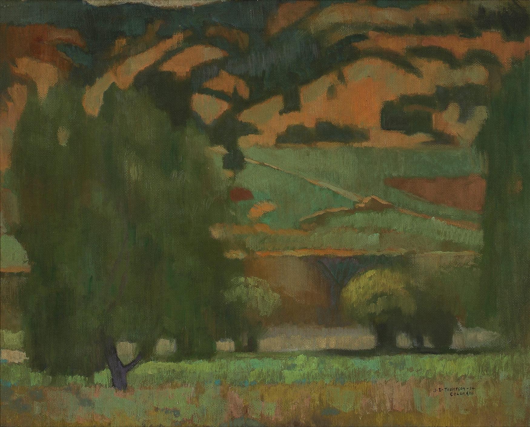 John E Thompson Modernist West