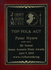 JIGSAW MONET  2013 JERSEY ACOUSTIC MUSIC AWARDS