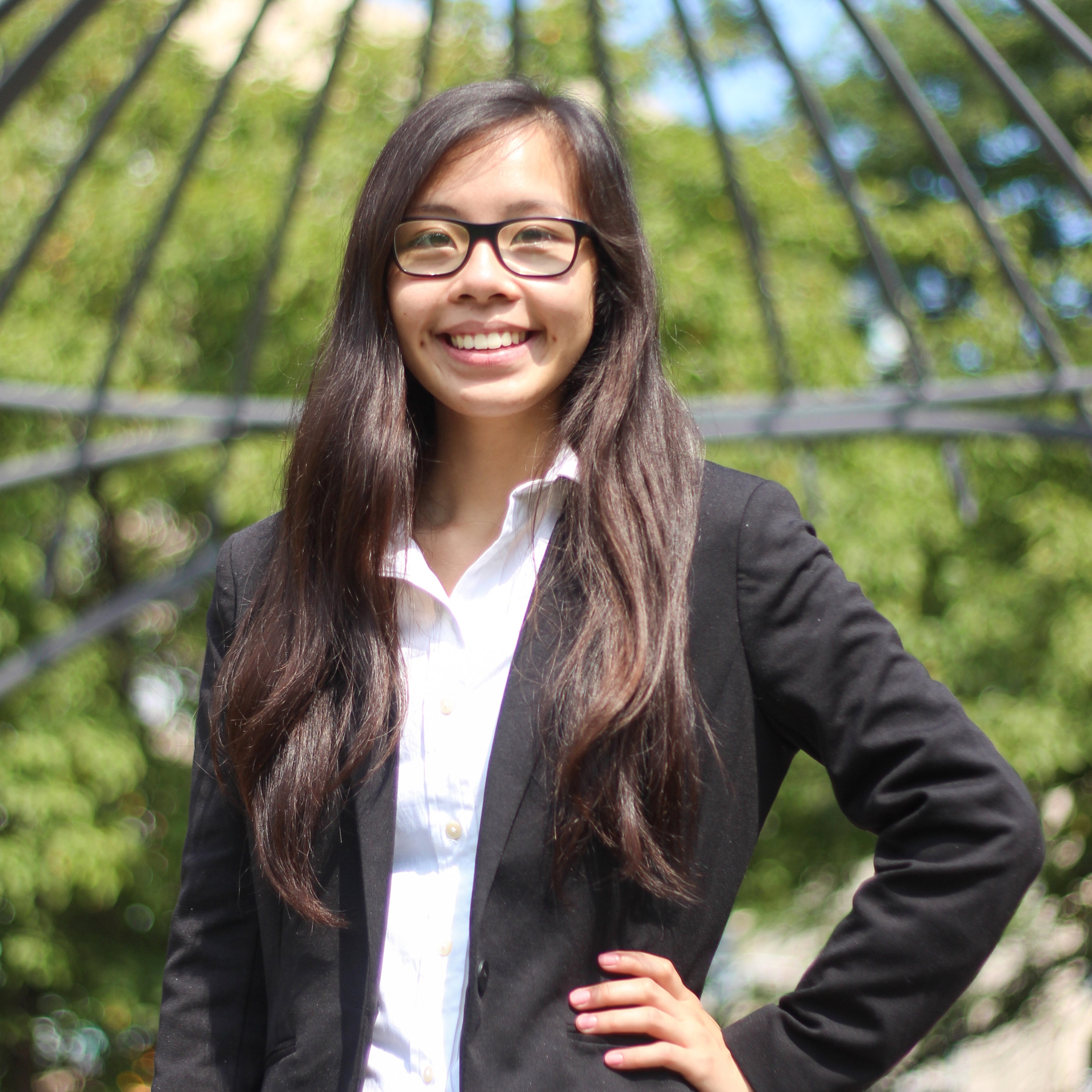 Crystal Hoang - Executive Assistant  3rd year, majoring in Economics and Management Science