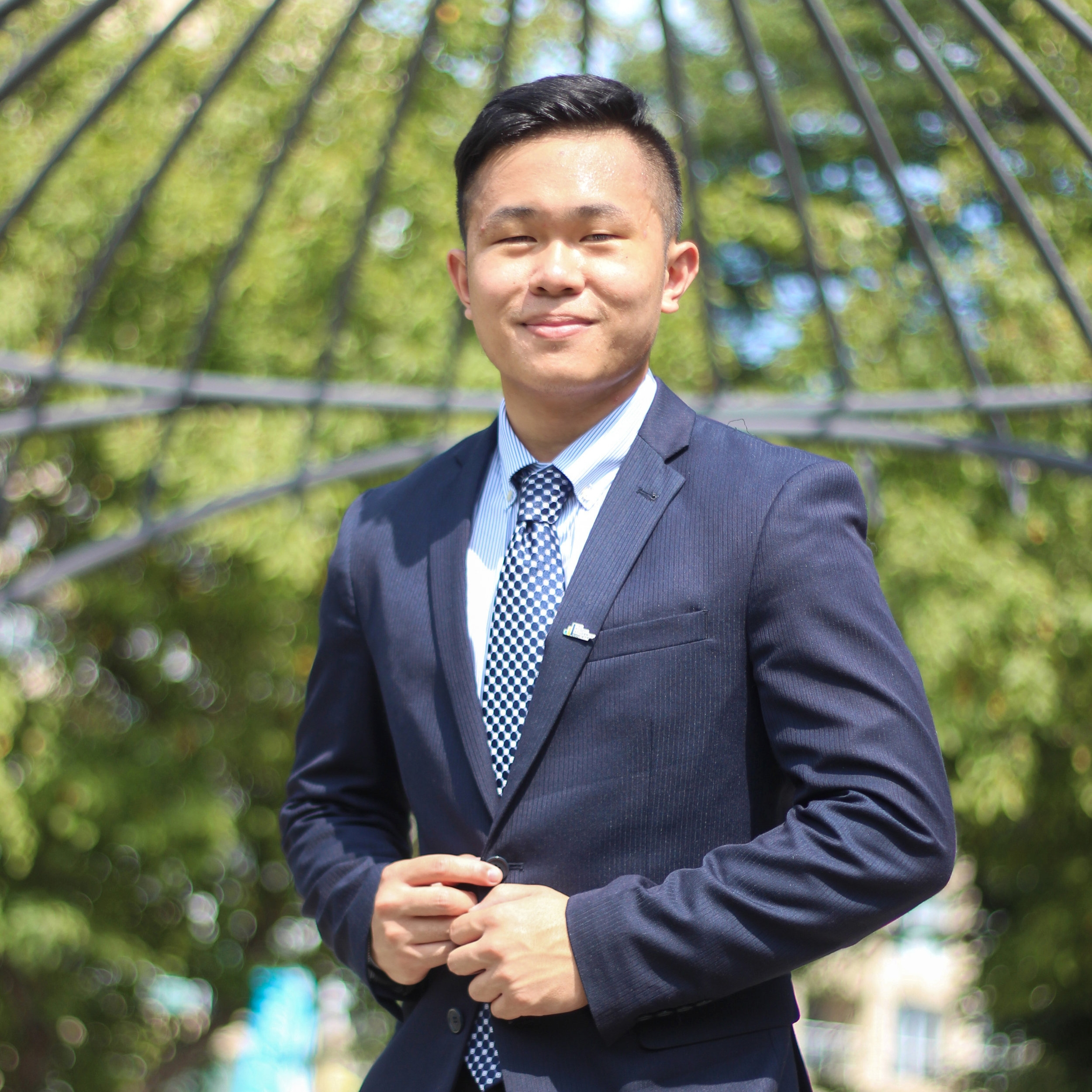 jarod panganiban - general associate  2nd year, majoring in marketing management