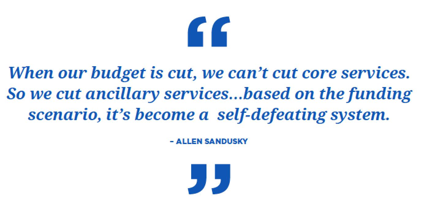 Allen Sandusky quote