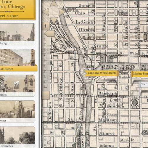 VISIT LINCOLN'S CHICAGO