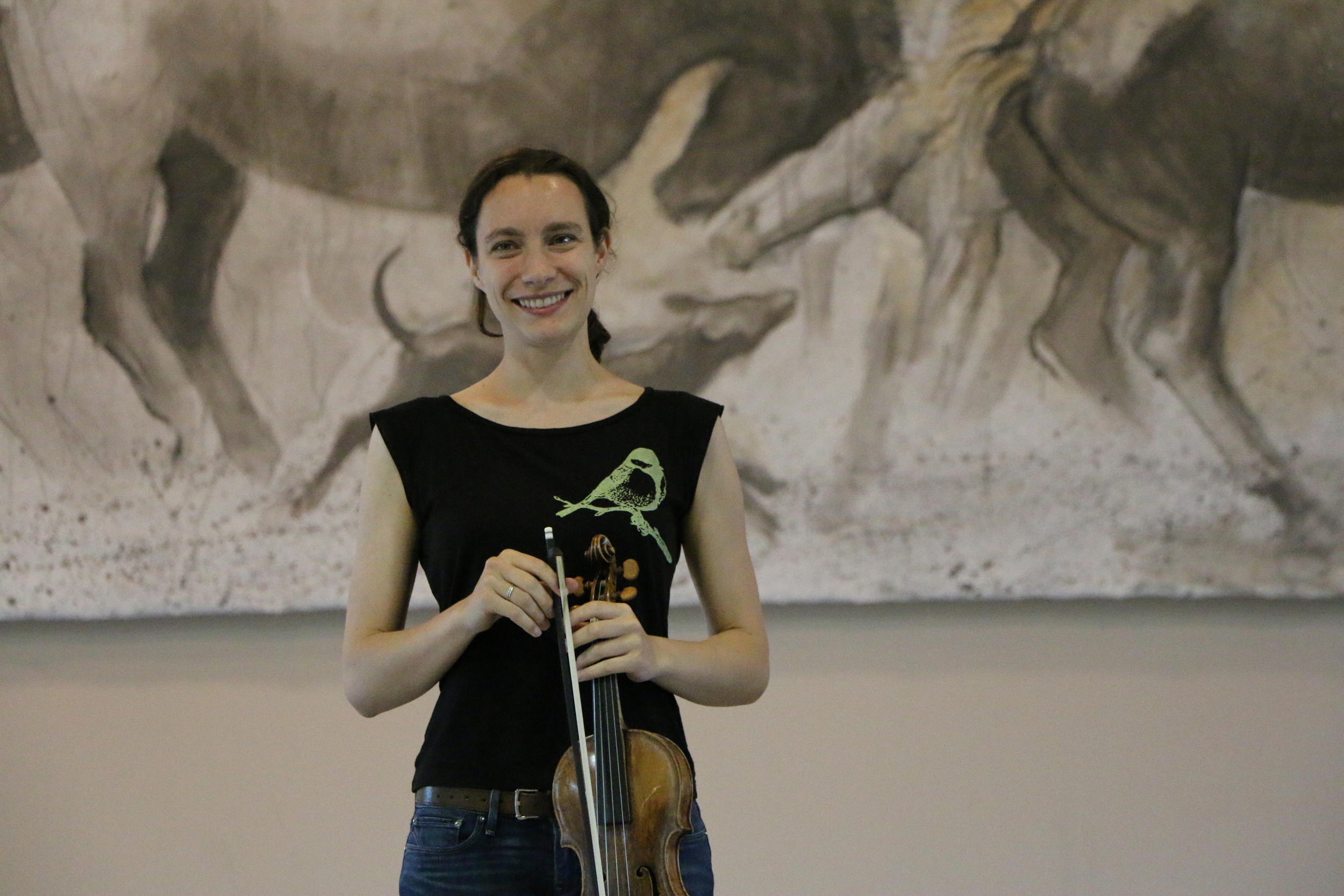 Liv Heym rehearsing Querencia by Michele Wiles
