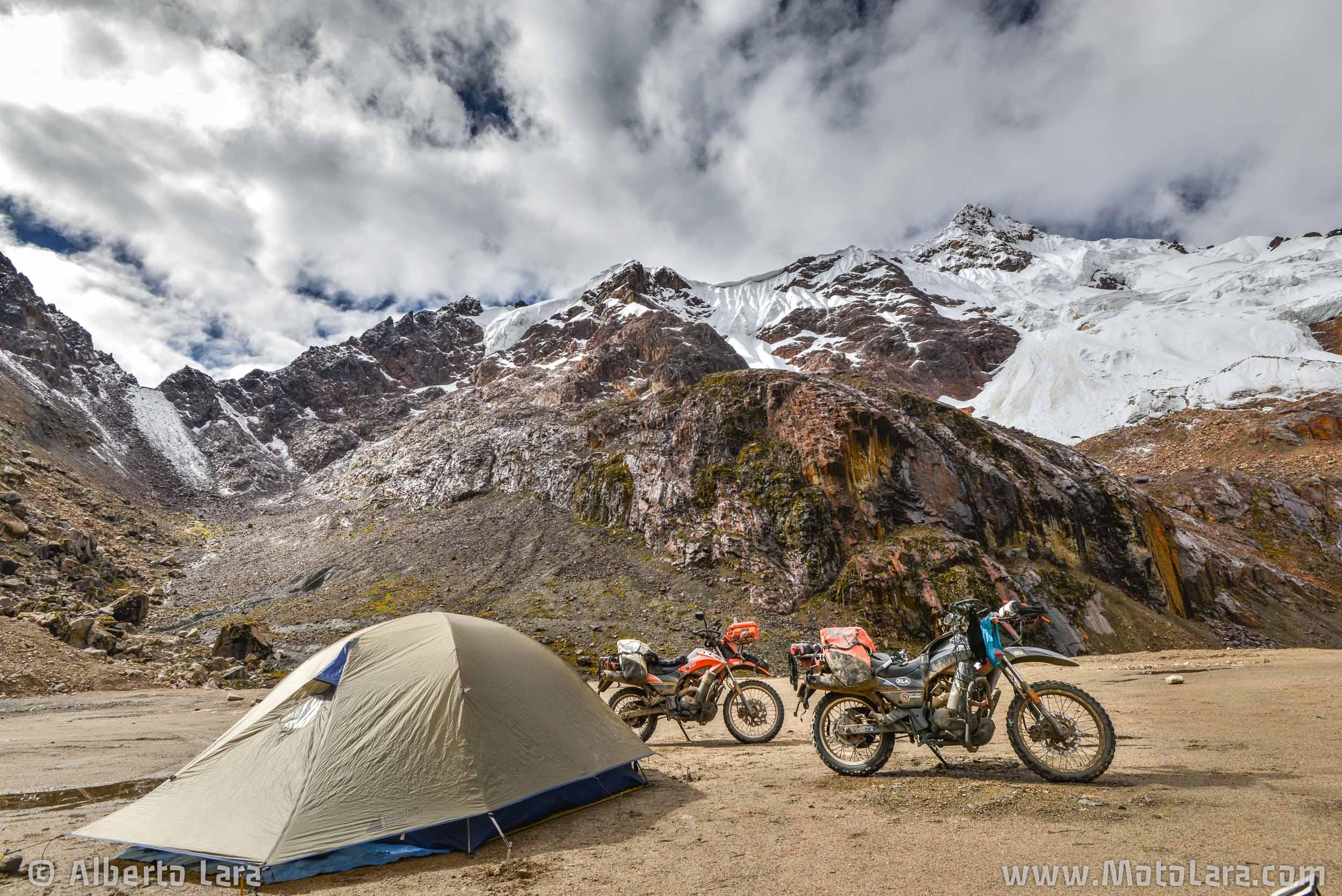 Camping @ 4,750 m near Punta Olimpica, Huascaran National Park.jpg