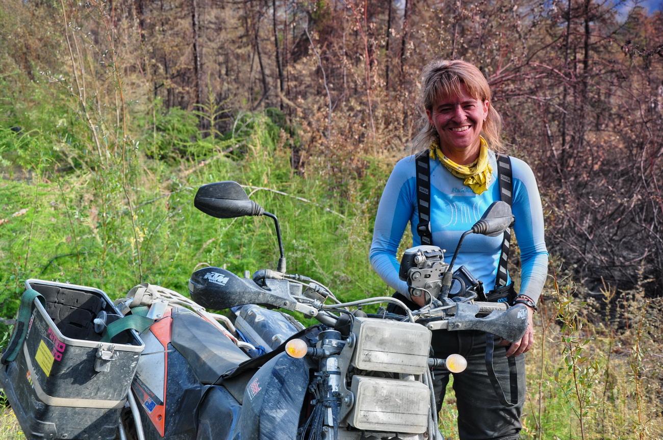 Sherri Jo Wilkins Road of Bones bushfire.jpg