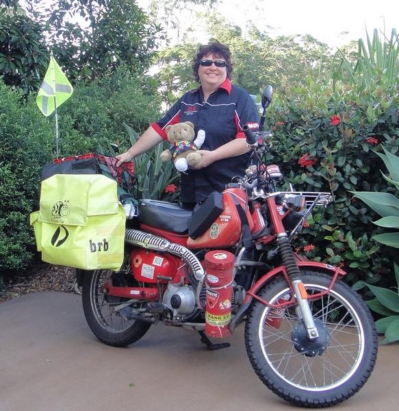 Jacquie-Kennedy-Australian-Postie-Motorbike