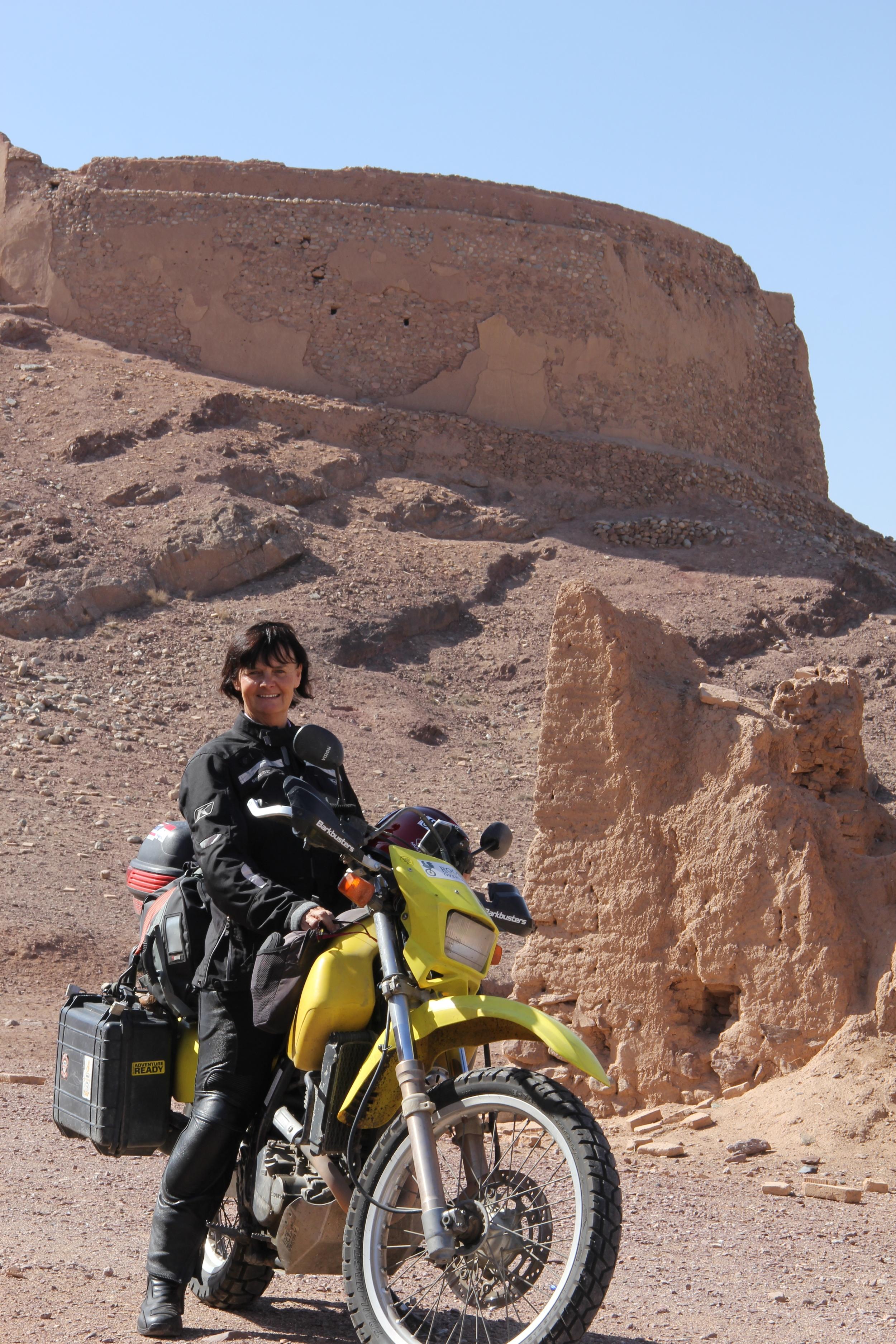 Liz in Yazd, Iran