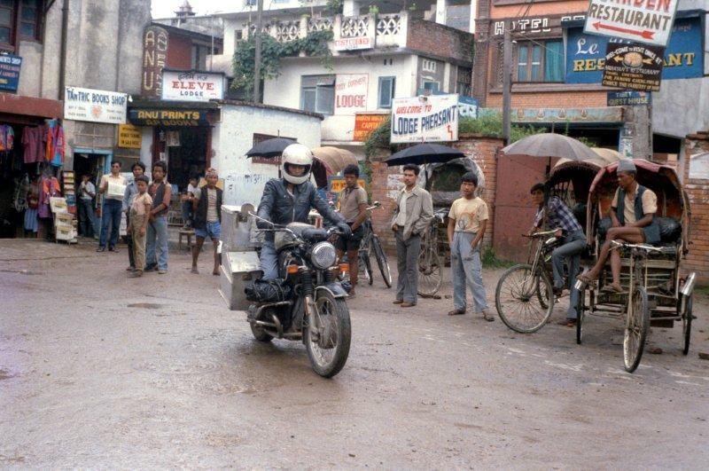Elspeth Beard - Leaving Kathmandu