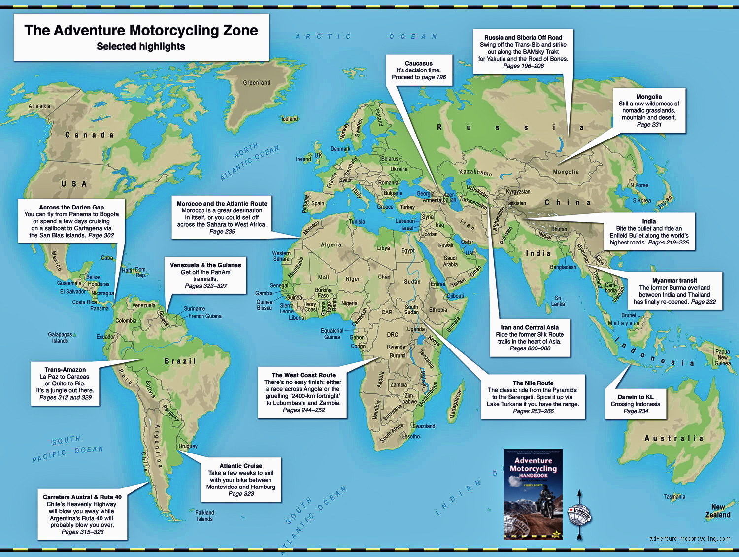 The Adventure Motorcycling Zone