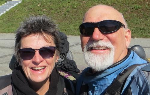 Image: Shirley Hardy-Rix & Brian Rix - Aussies Overland