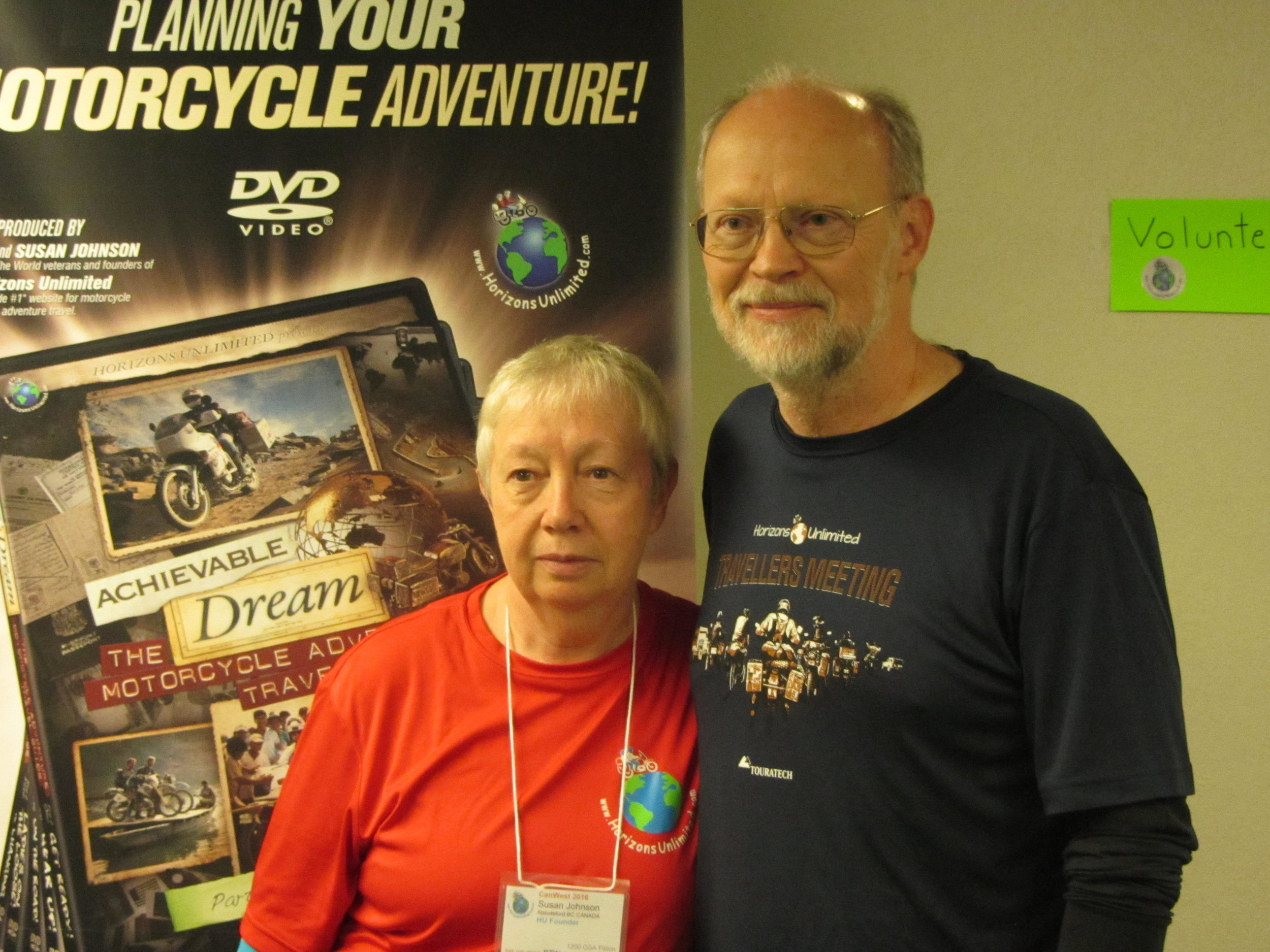 Grant & Susan Johnson - Horizons Unlimited