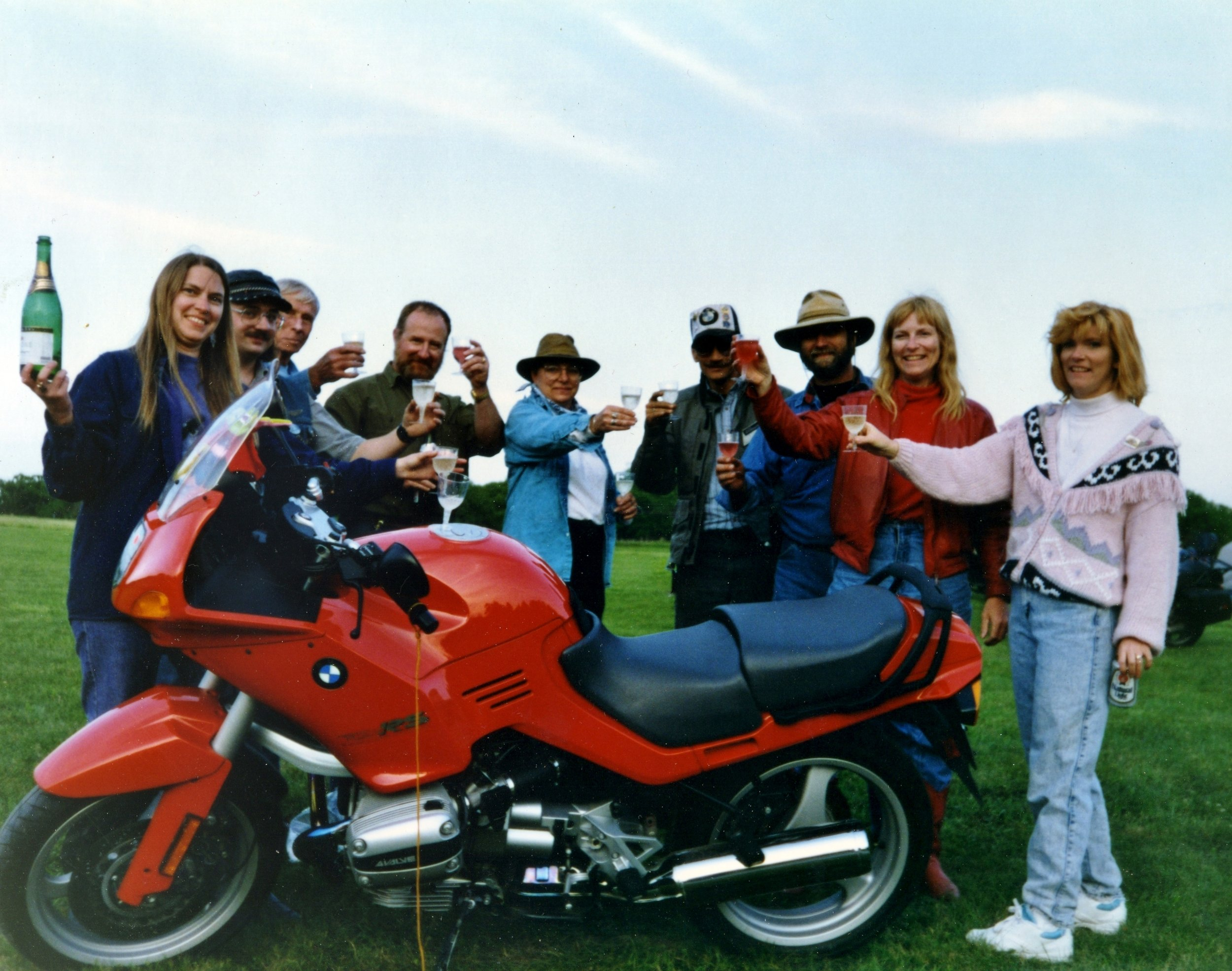 Image: Voni Glaves | 1993 with her new R11RS
