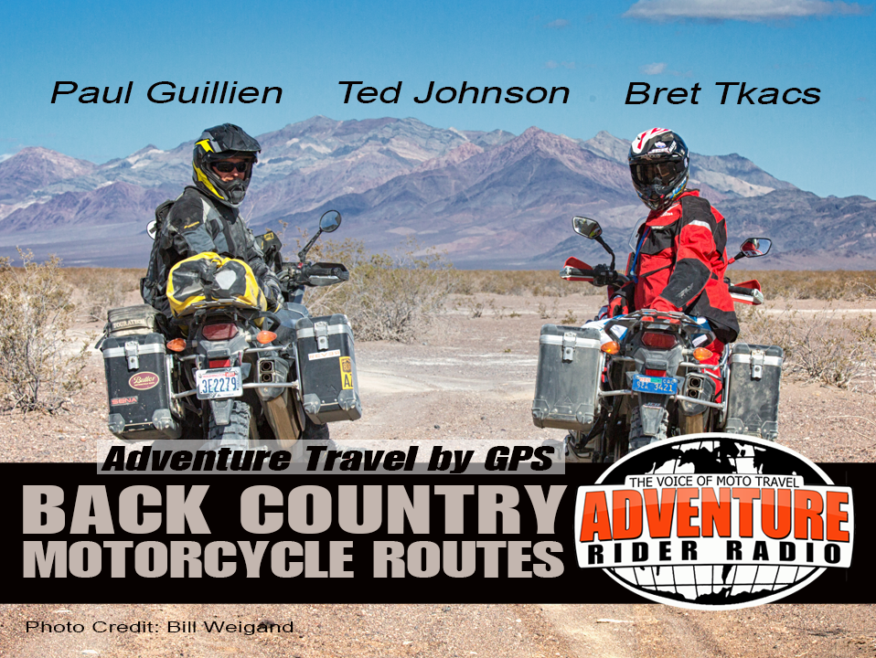 Back Country Motorcycle Routes by GPS