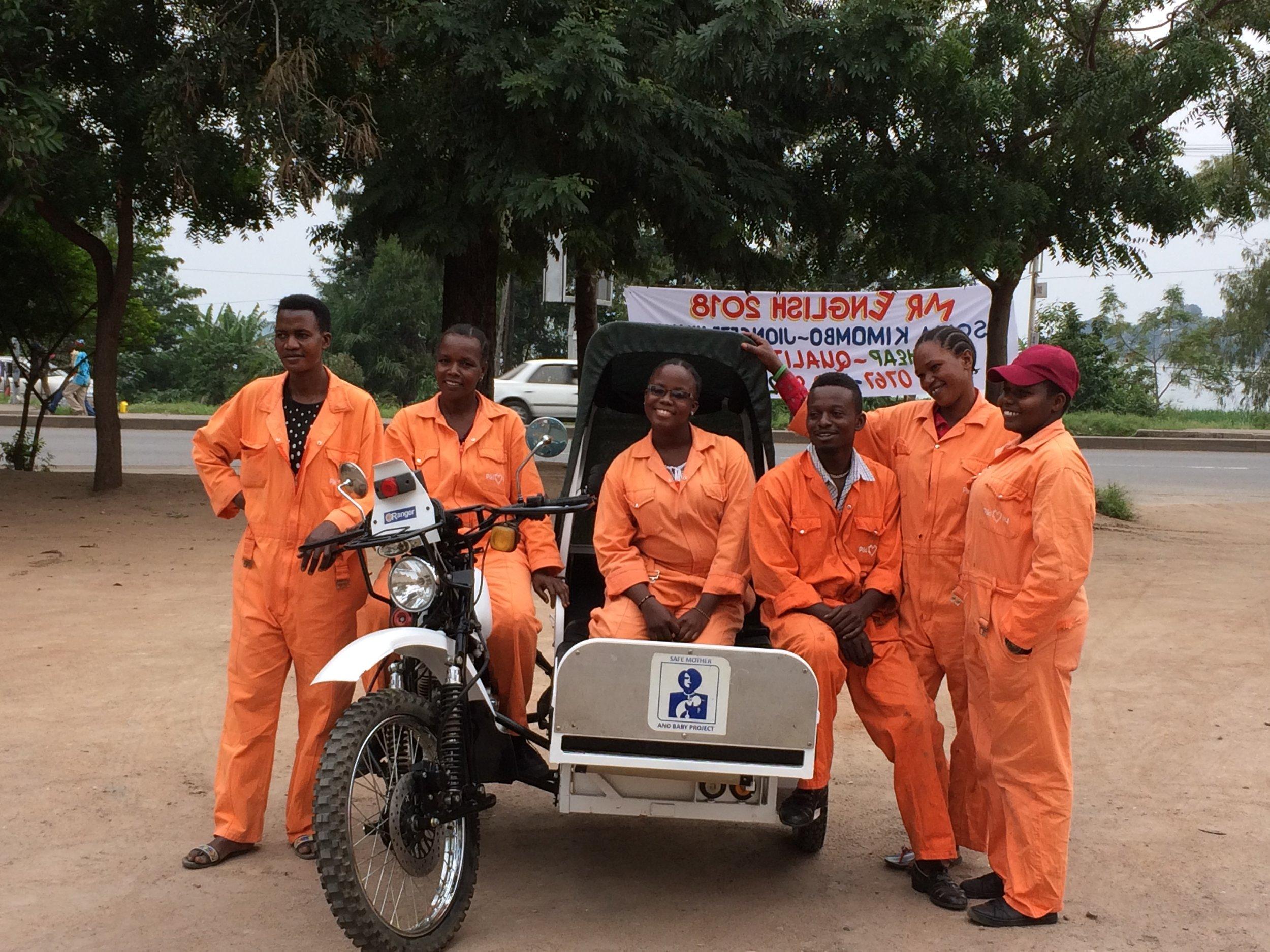 Image: Claire Elsdon | Pikilily | Women's motorcycle ambulance group