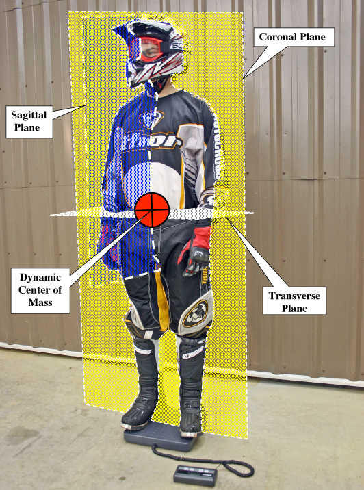 Rider's Dynamic Centre of Mass