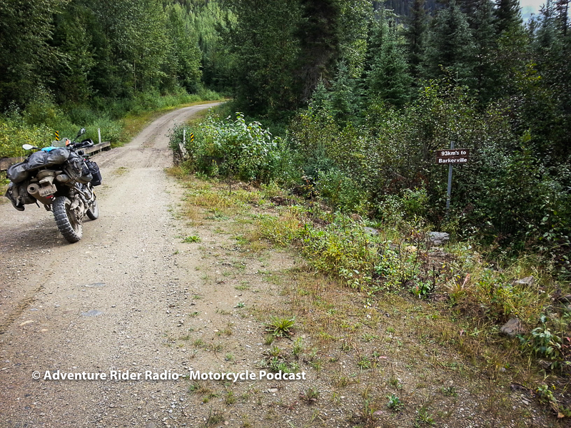 JIM MARTIN - On the road to Barkerville, British Columbia